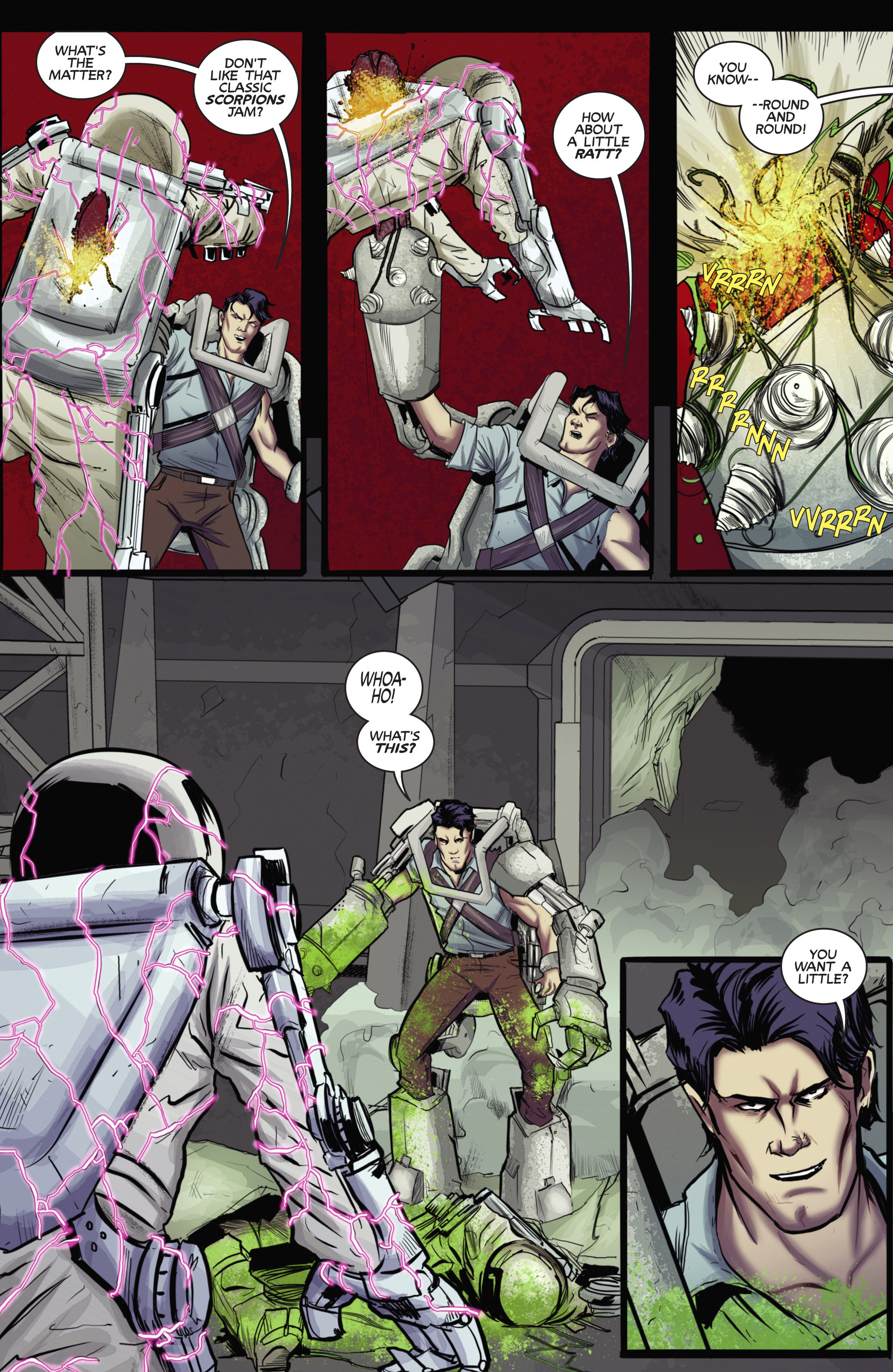 Read online Army of Darkness (2014) comic -  Issue #4 - 6