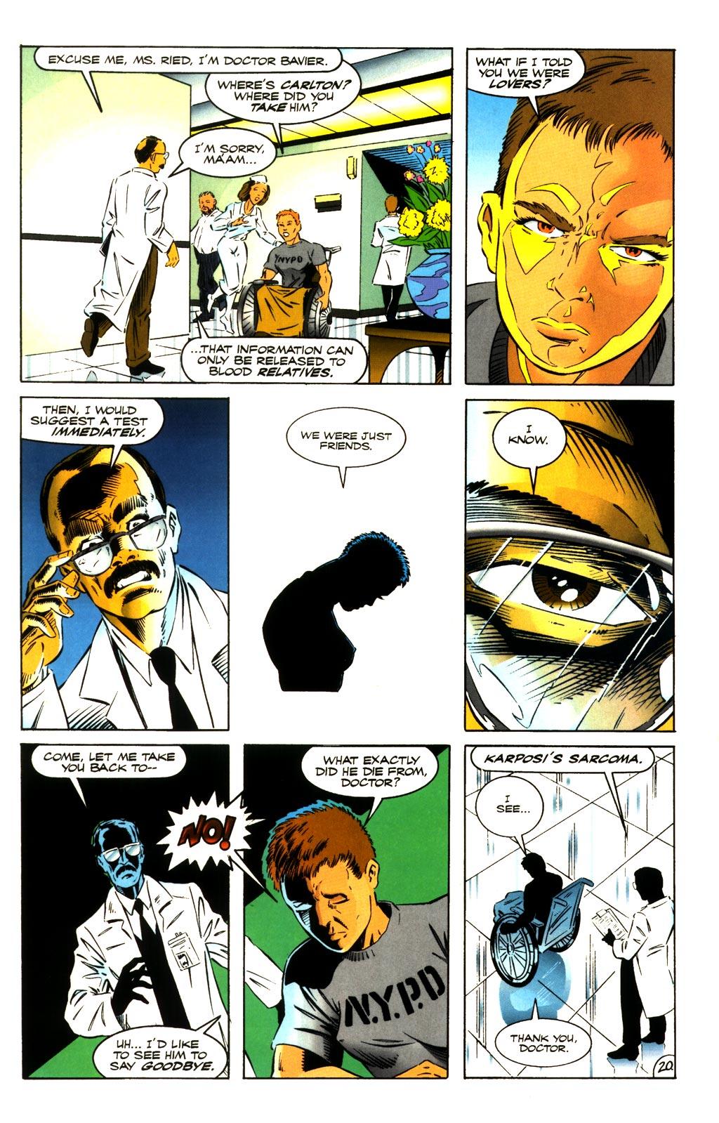 Read online ShadowHawk comic -  Issue #8 - 19