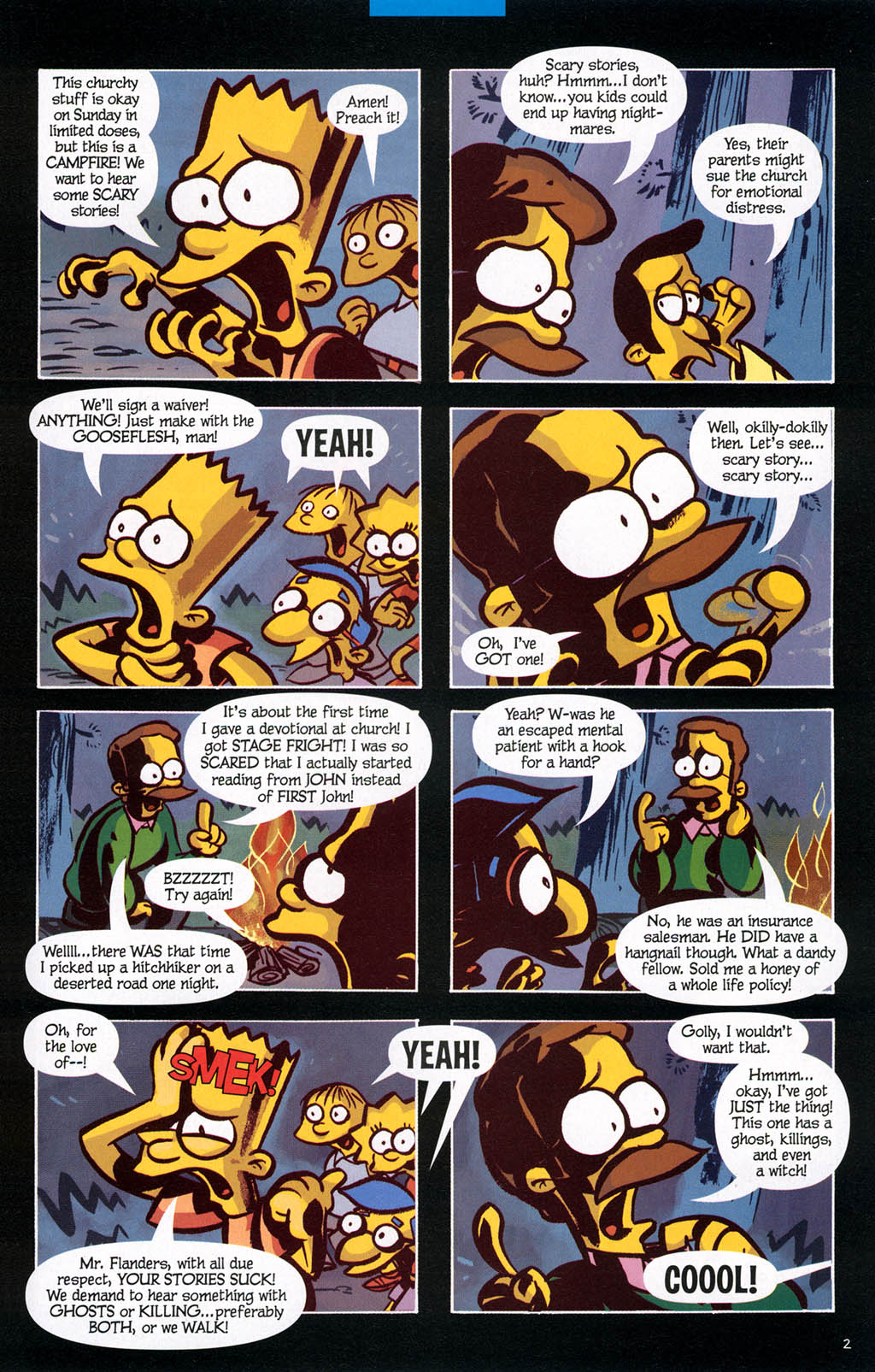 Read online Treehouse of Horror comic -  Issue #10 - 42