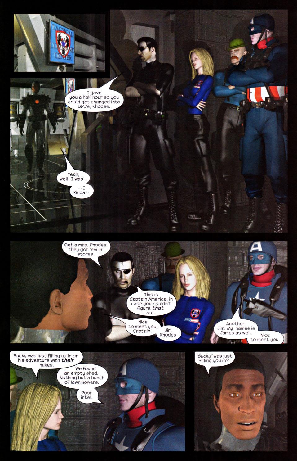 Read online U.S. War Machine 2.0 comic -  Issue #2 - 16