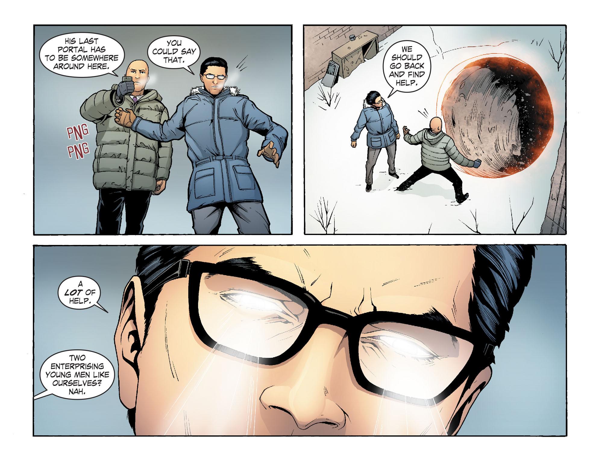 Read online Smallville: Alien comic -  Issue #7 - 20