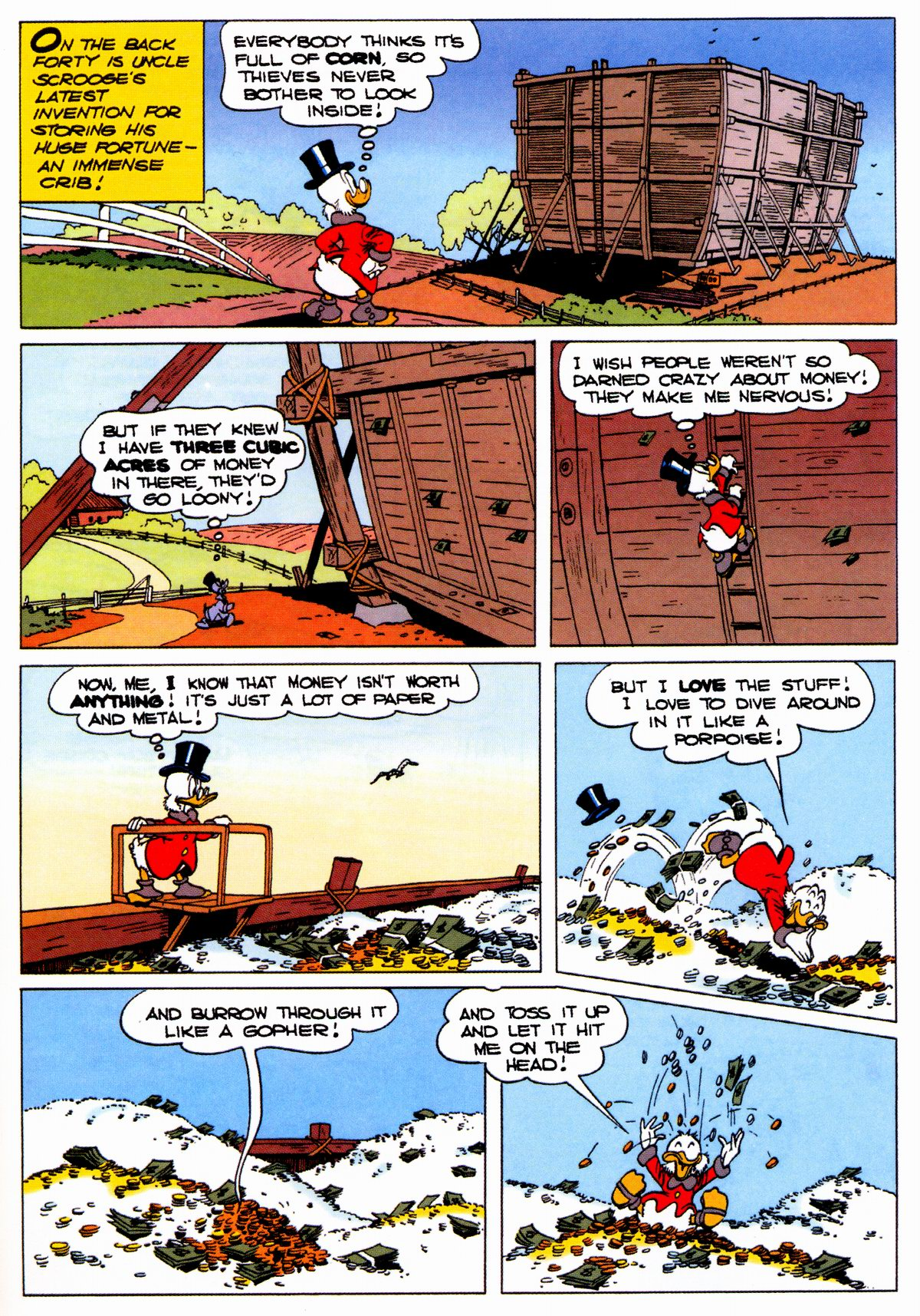 Read online Uncle Scrooge (1953) comic -  Issue #326 - 31