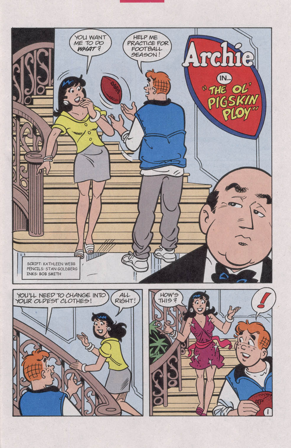 Read online Archie (1960) comic -  Issue #542 - 27