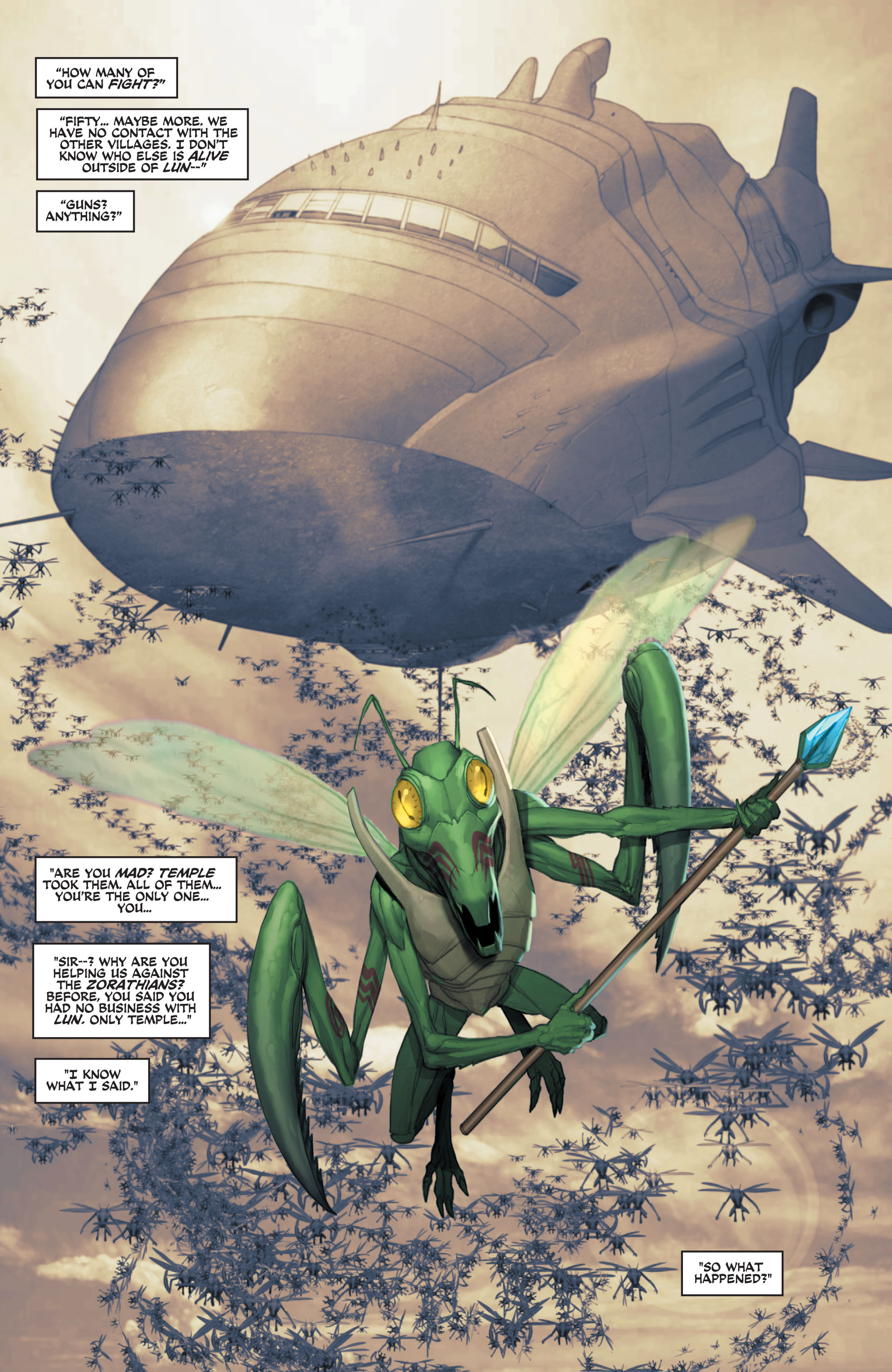 Read online Space Ghost (2016) comic -  Issue # Full - 114
