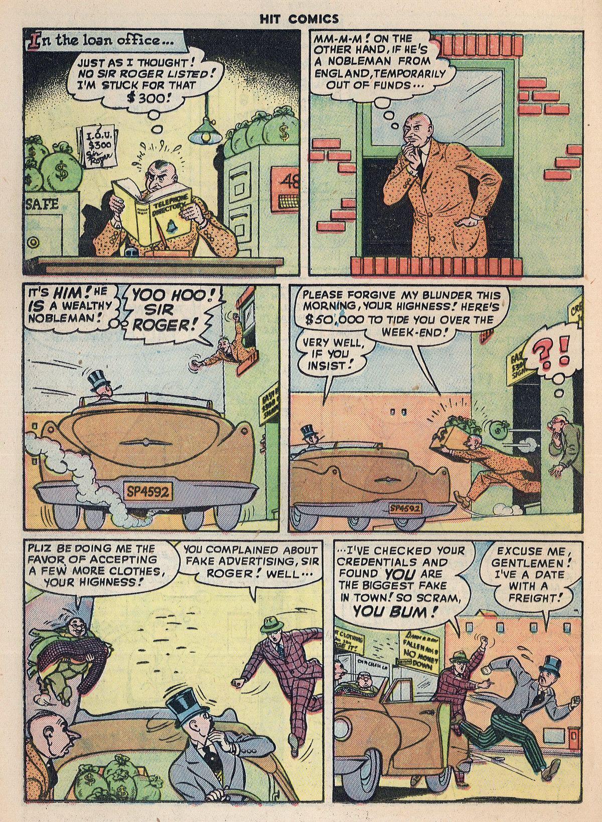 Read online Hit Comics comic -  Issue #55 - 36