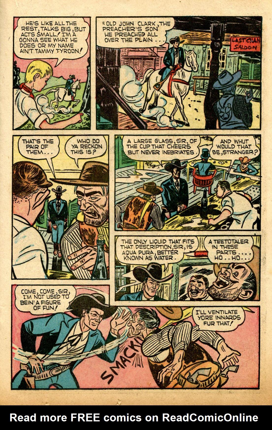 Read online Shadow Comics comic -  Issue #74 - 21