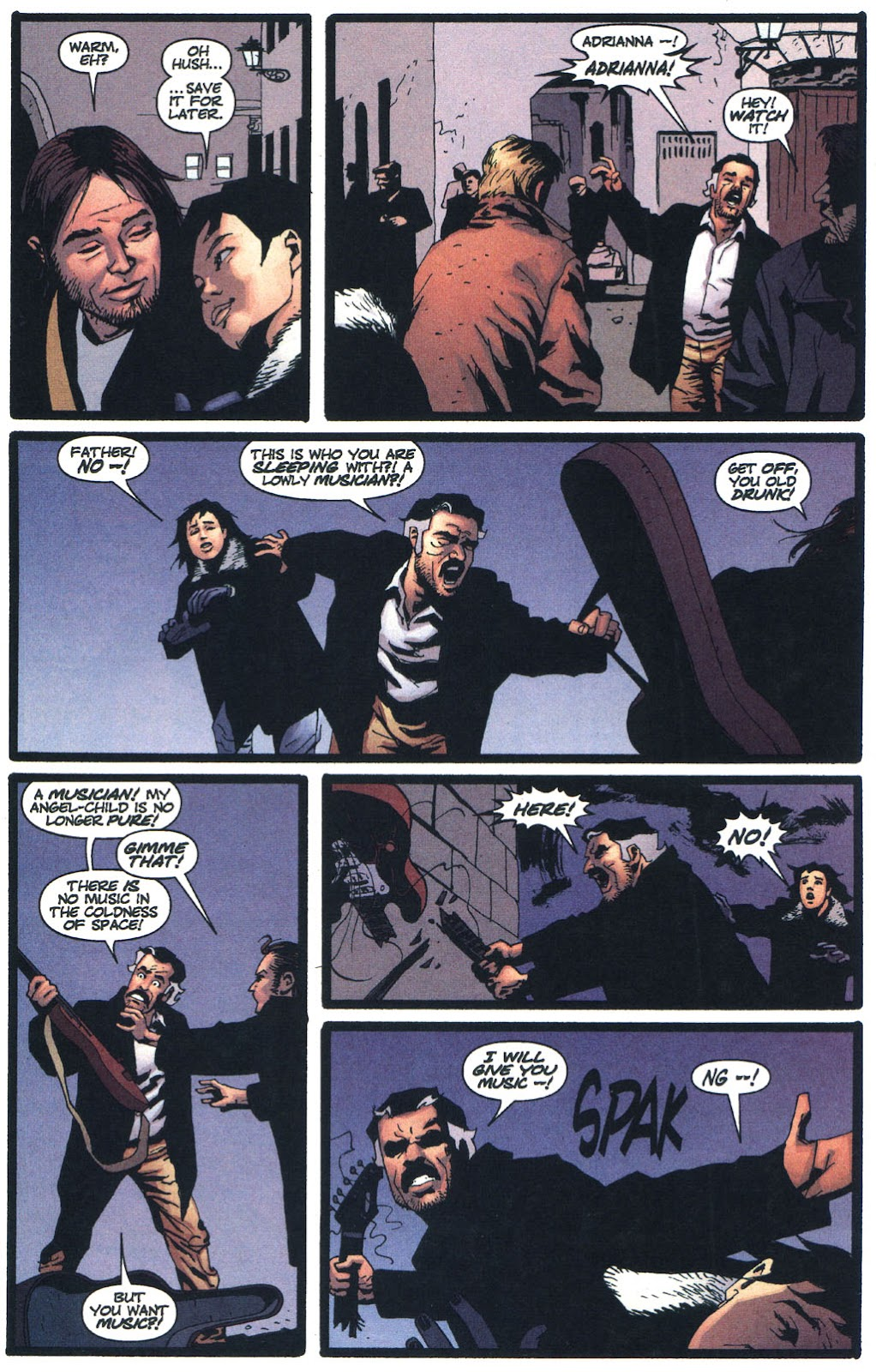 Wildcats (1999) Issue #13 #14 - English 9