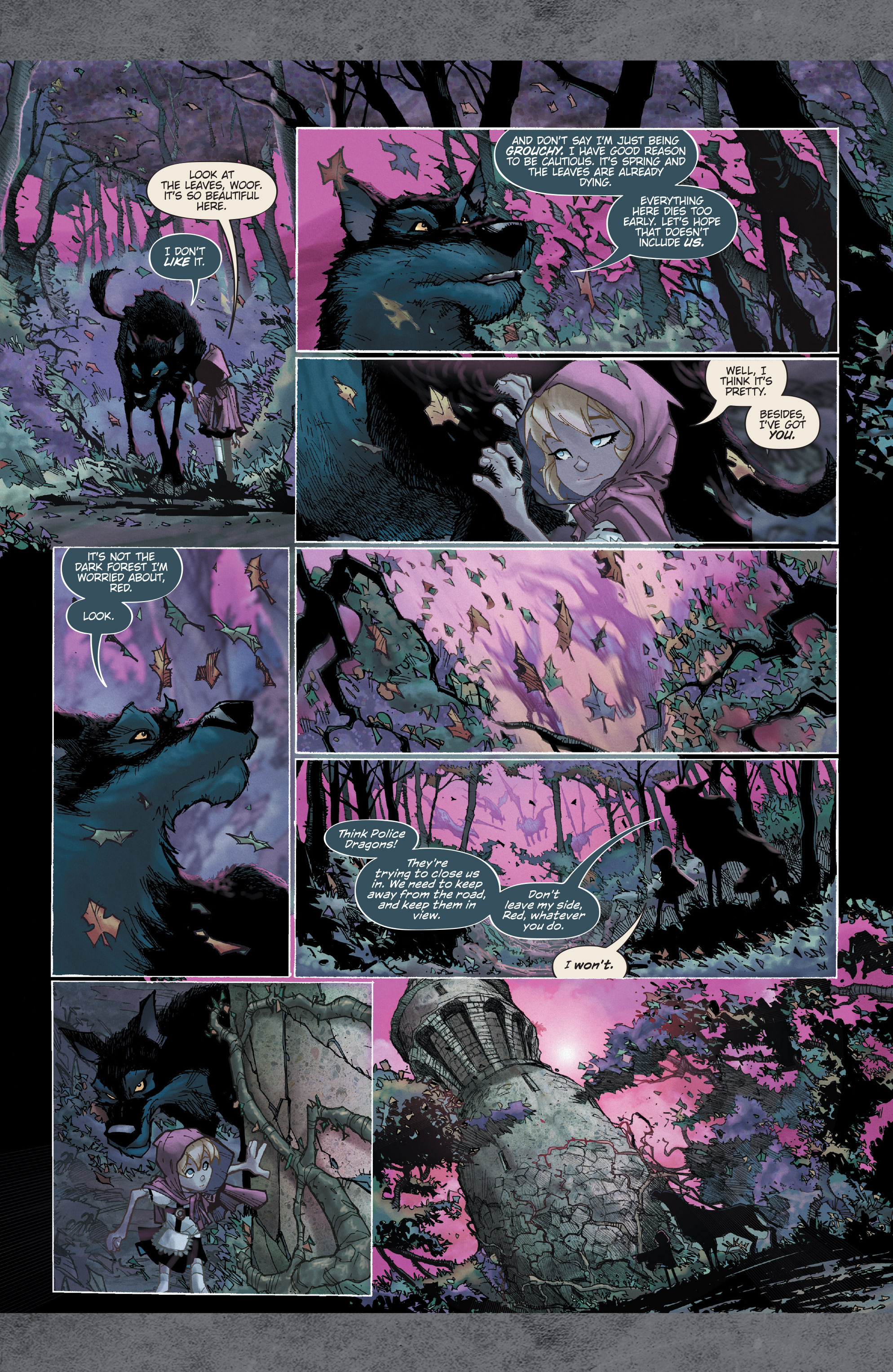 Read online Fairy Quest: Outcasts comic -  Issue #1 - 8