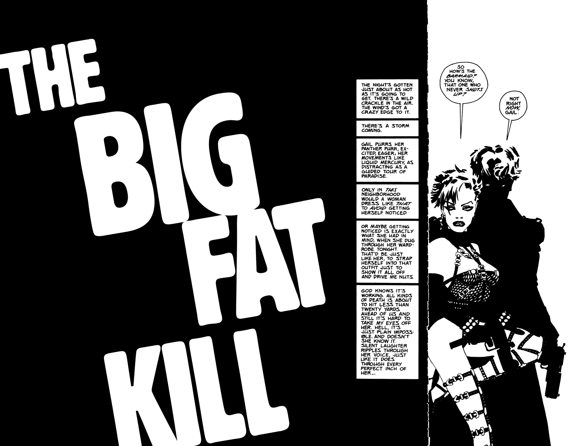 Read online Sin City: The Big Fat Kill comic -  Issue #2 - 2