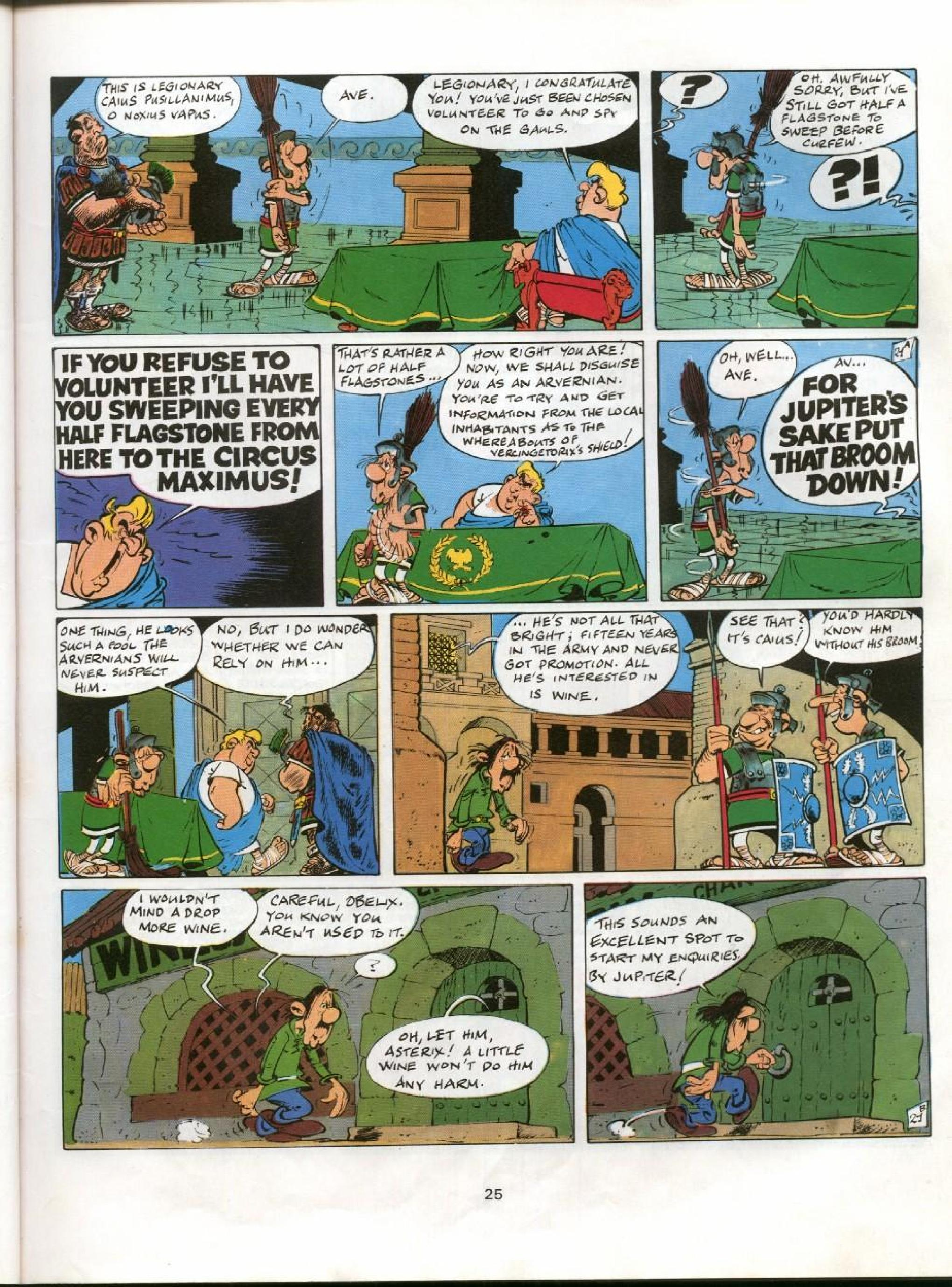 Read online Asterix comic -  Issue #11 - 22