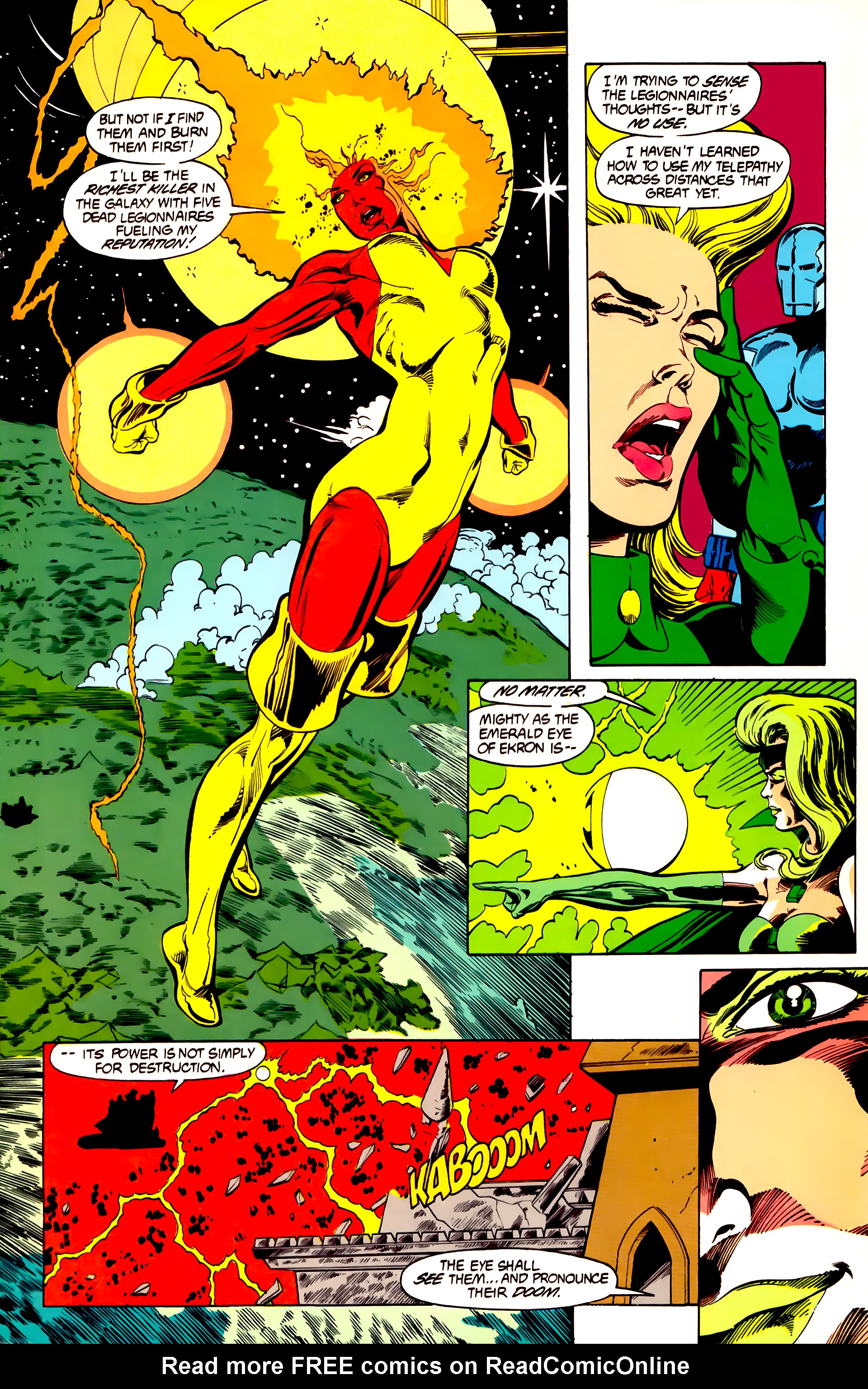 Legion of Super-Heroes (1984) 26 Page 10