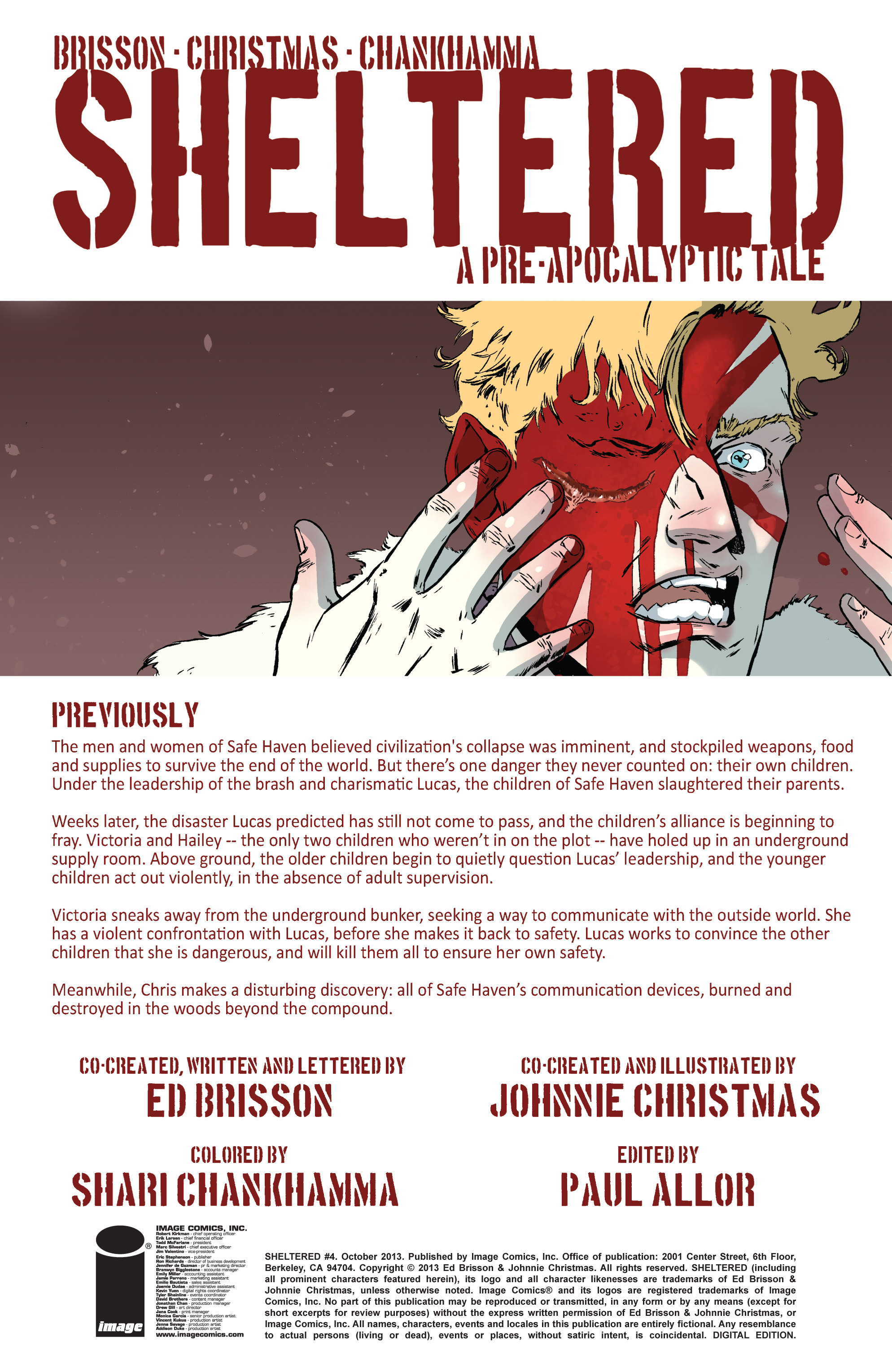 Read online Sheltered comic -  Issue #4 - 2