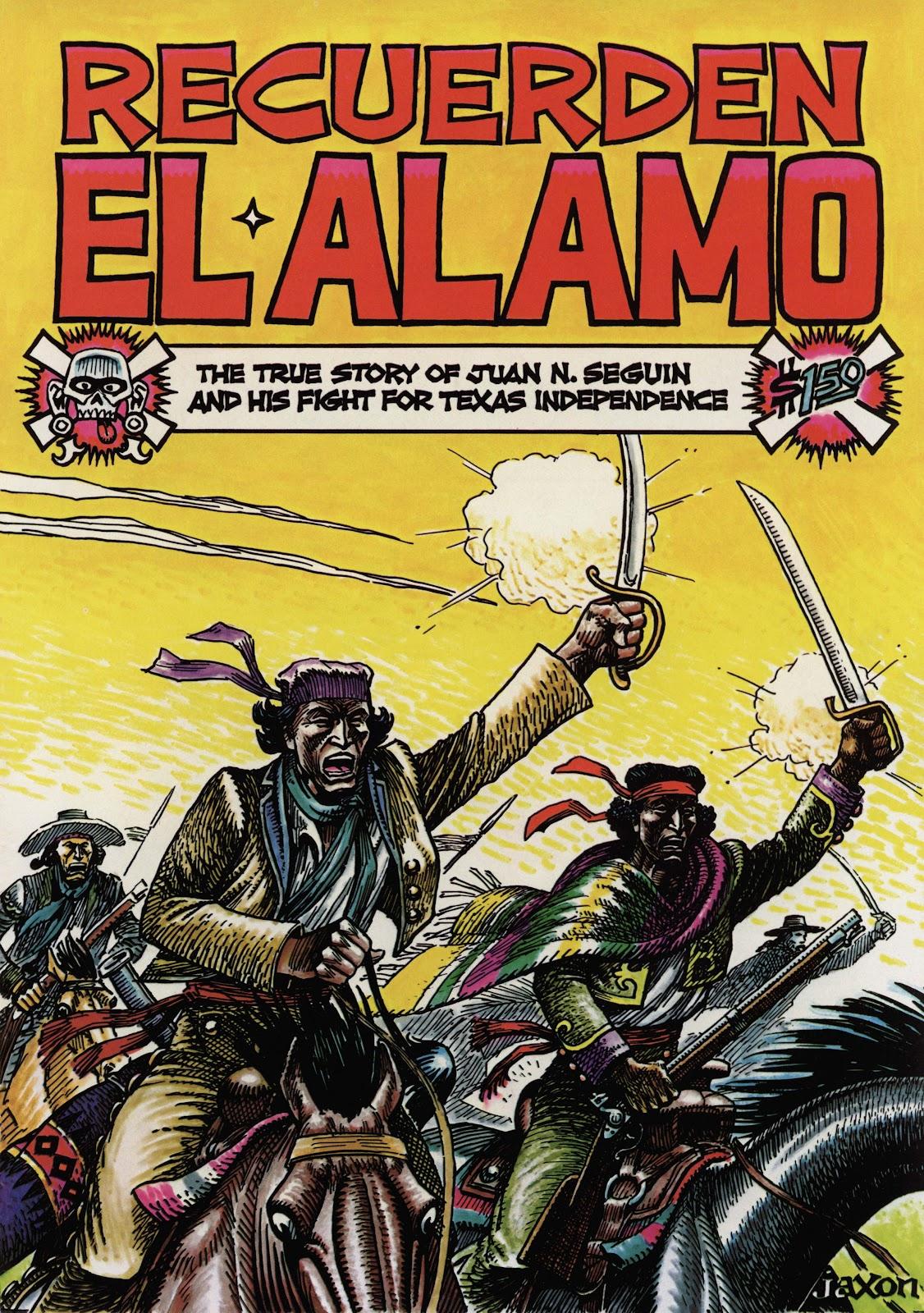 Recuerden el Alamo issue Full - Page 1