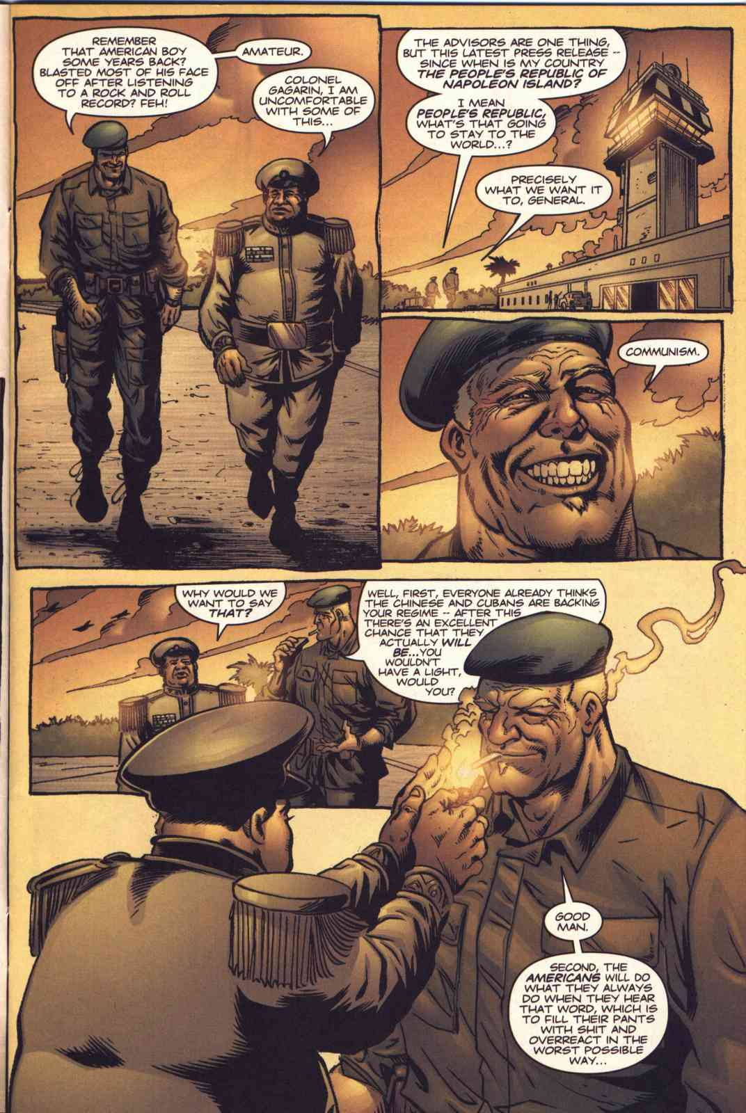 Read online Fury comic -  Issue #3 - 4