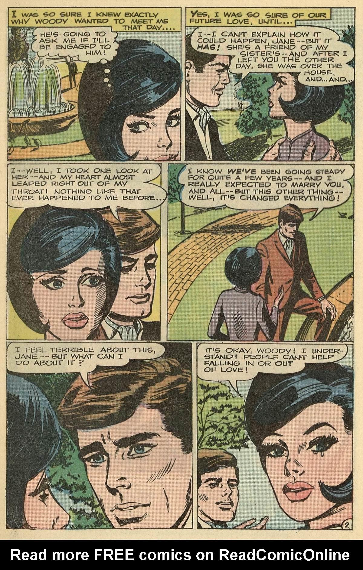 Read online Secret Hearts comic -  Issue #125 - 4