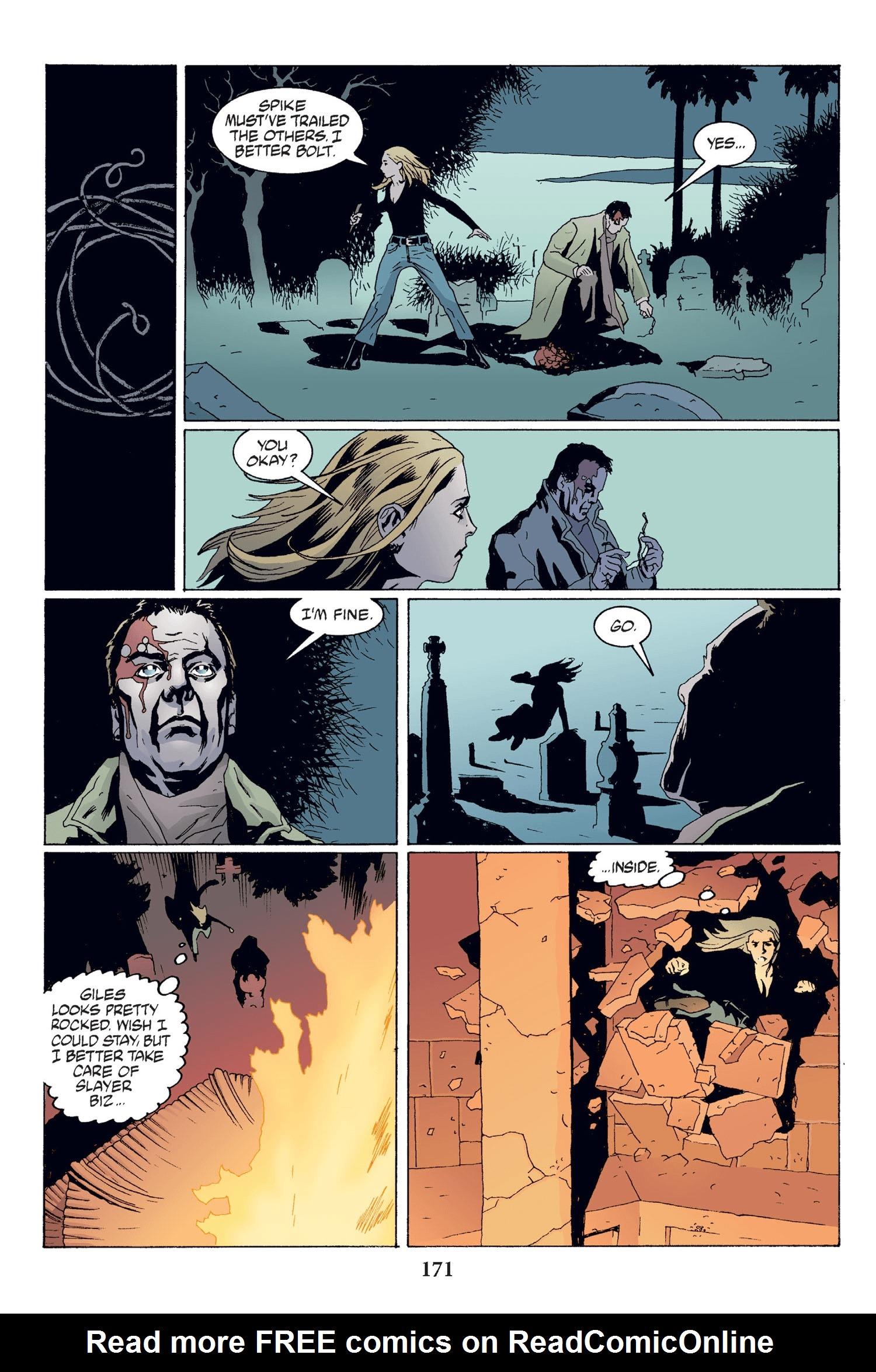 Read online Buffy the Vampire Slayer: Omnibus comic -  Issue # TPB 2 - 165