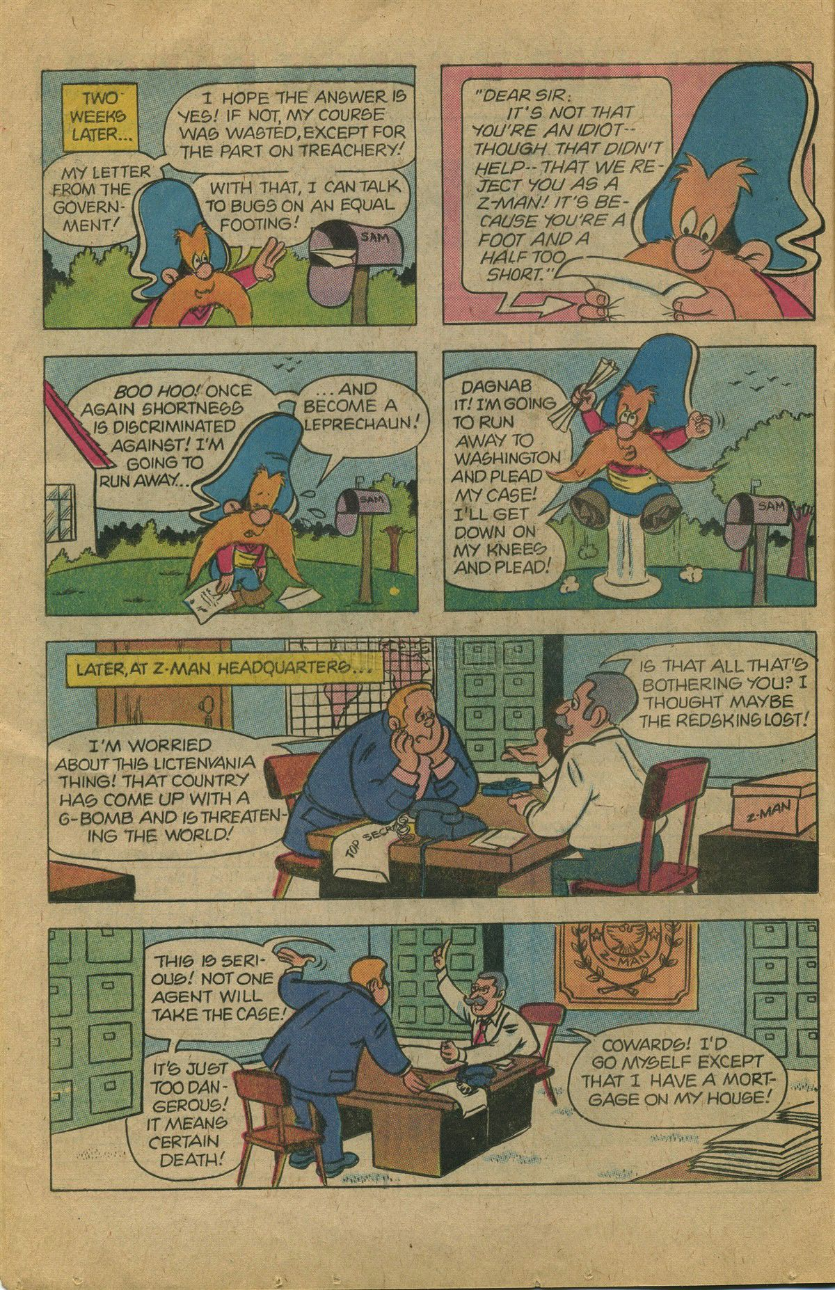 Yosemite Sam and Bugs Bunny issue 60 - Page 16