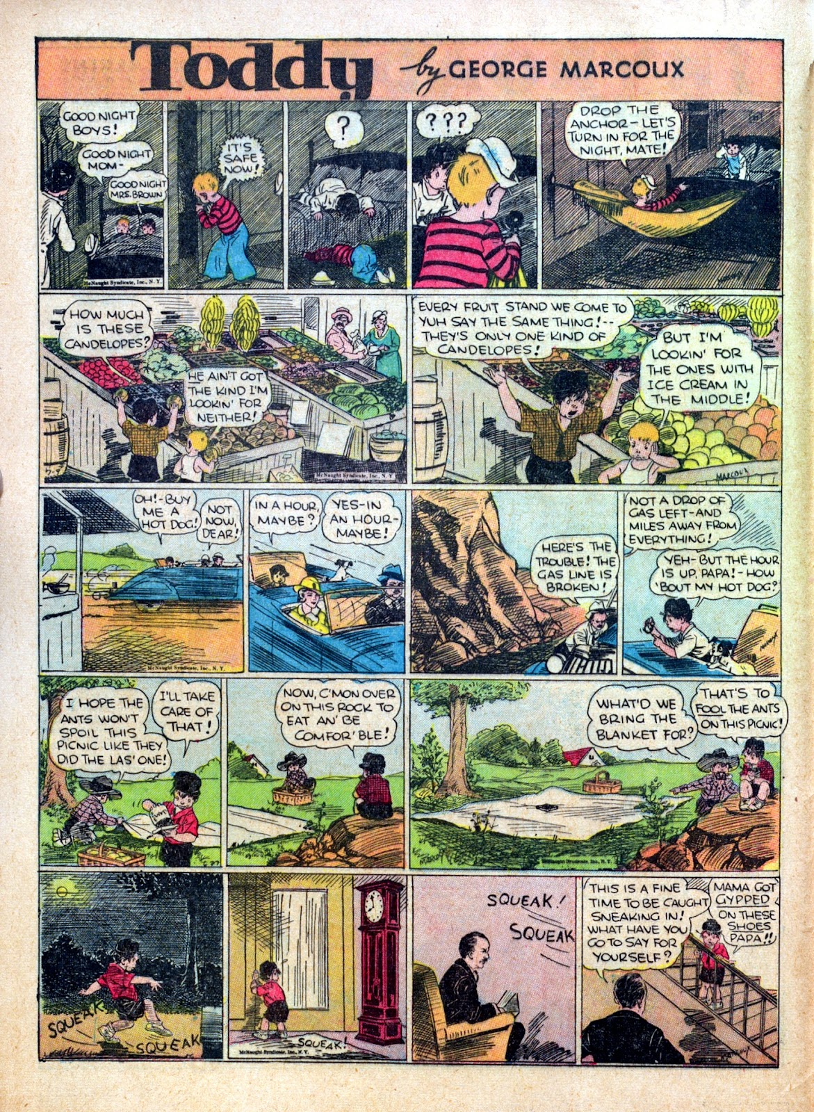 Read online Famous Funnies comic -  Issue #30 - 14