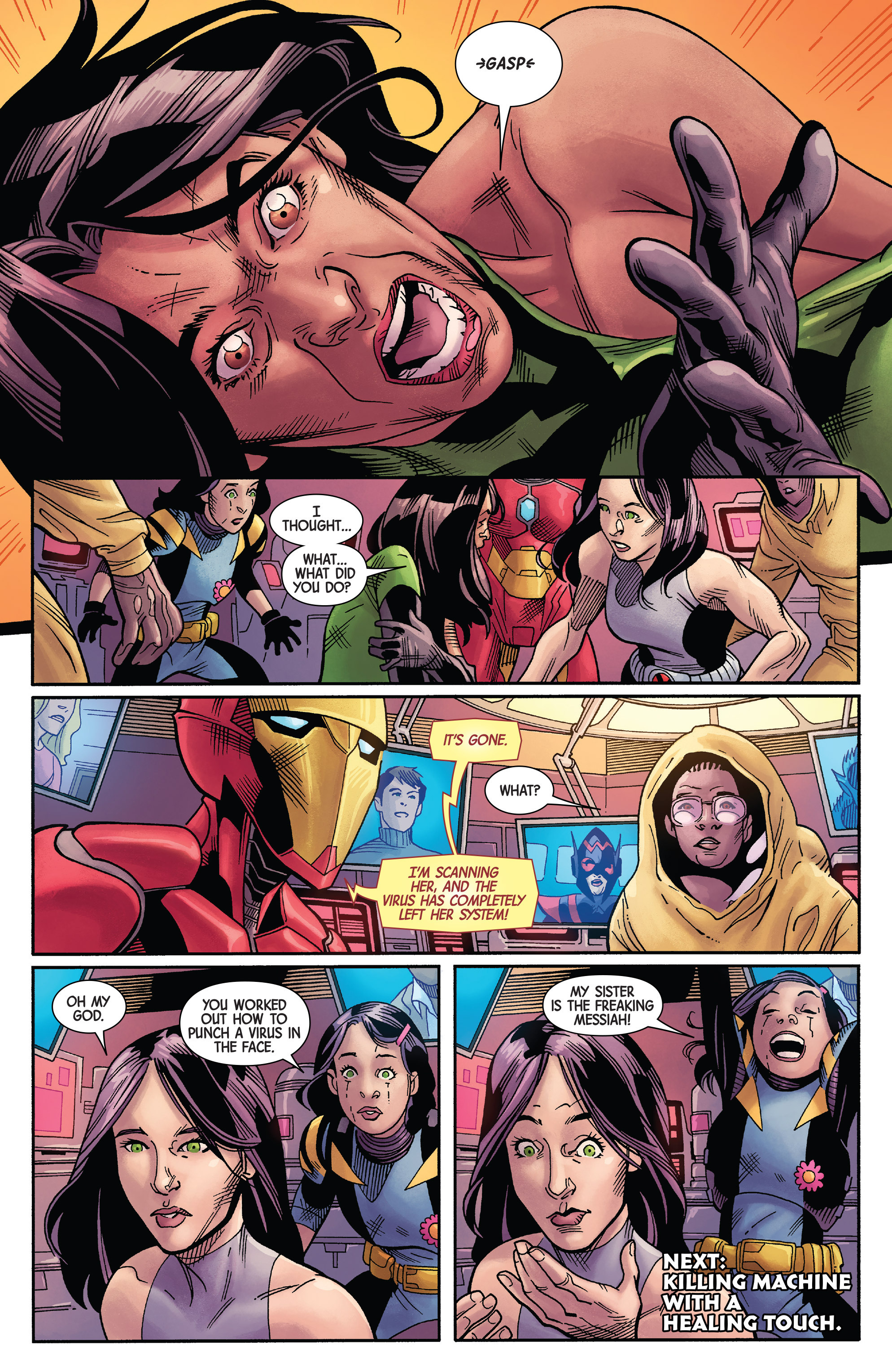 Read online All-New Wolverine (2016) comic -  Issue #20 - 21