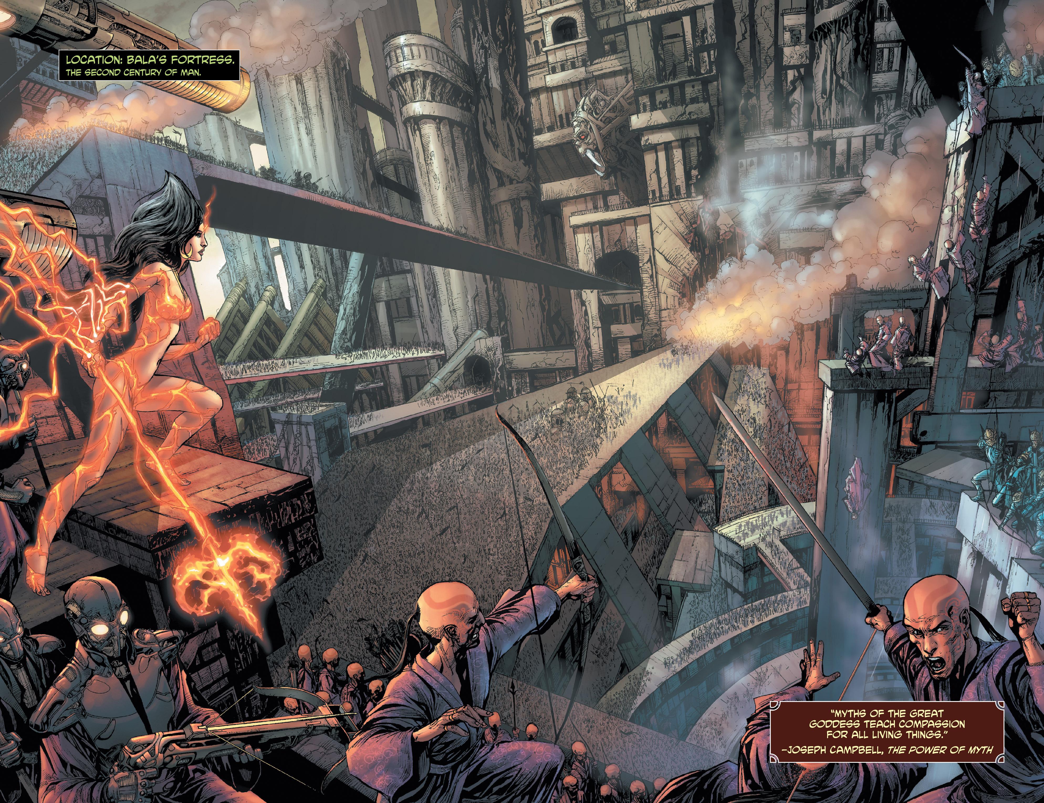 Read online Shekhar Kapur's Devi: Rebirth comic -  Issue #1 - 4