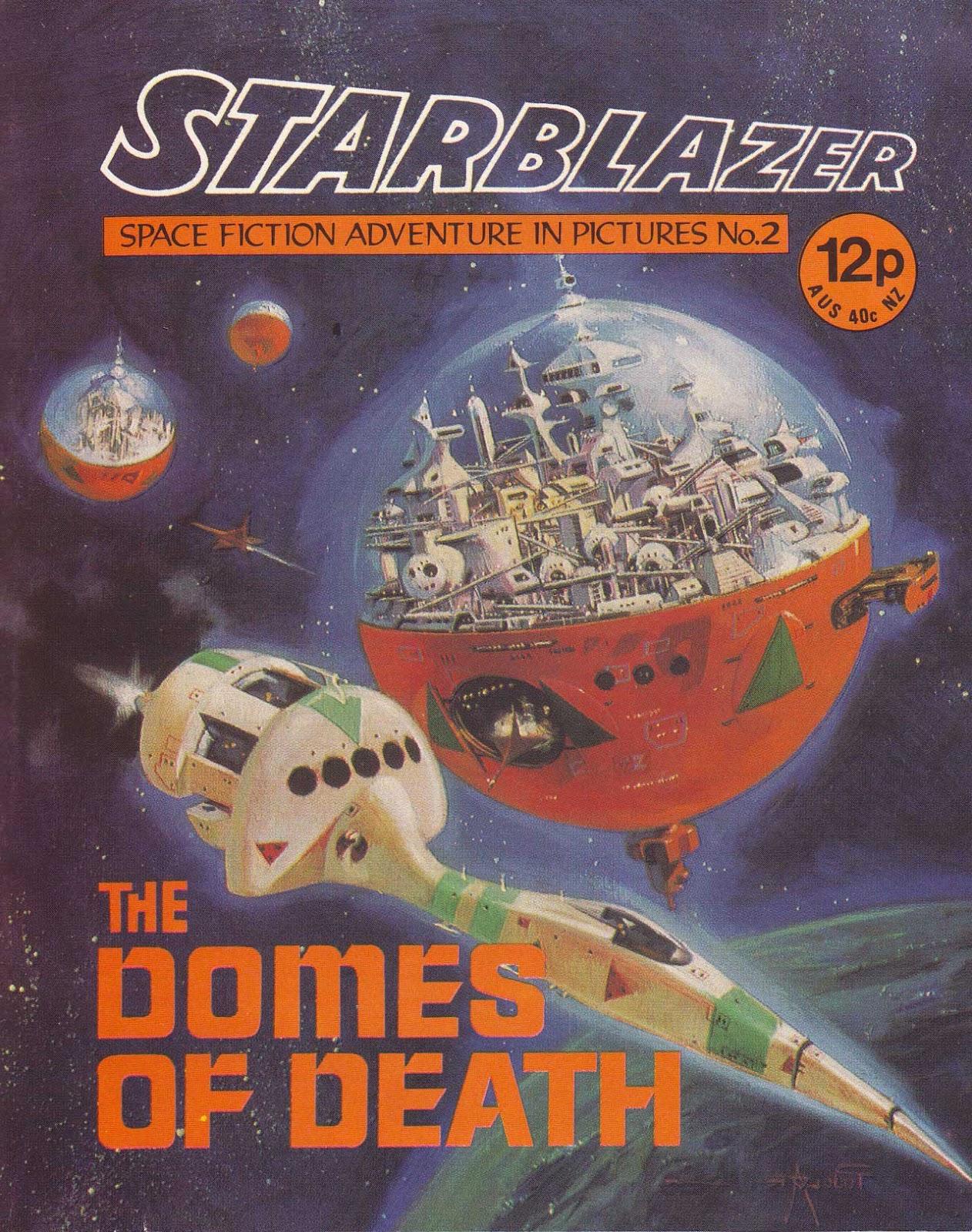 Starblazer issue 2 - Page 1