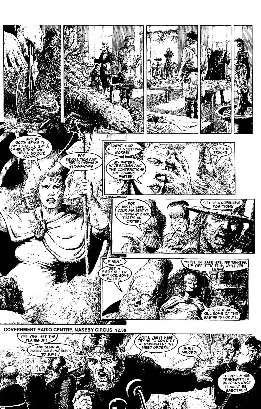 Read online The Adventures of Luther Arkwright comic -  Issue #8 - 20