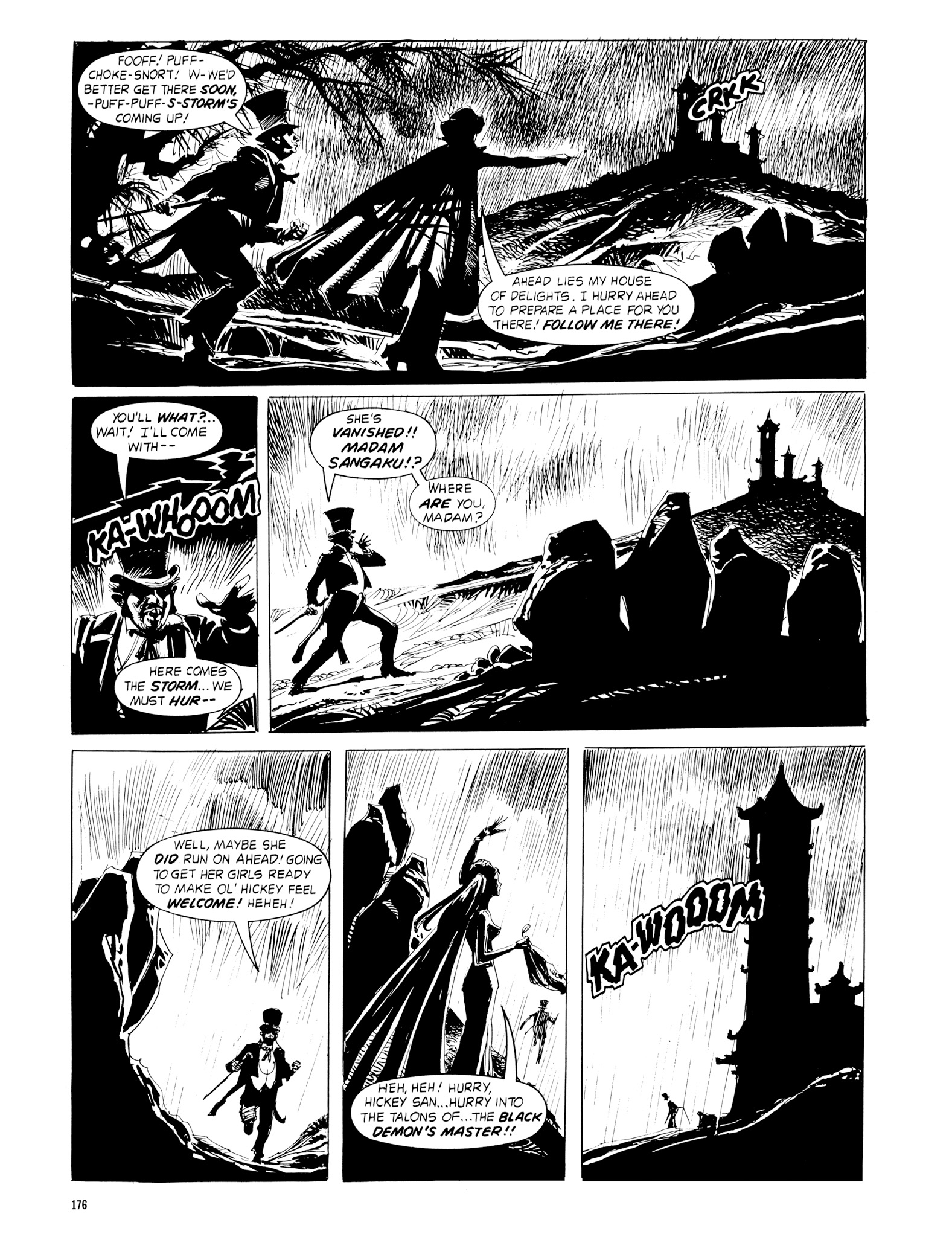 Read online Eerie Archives comic -  Issue # TPB 18 - 173