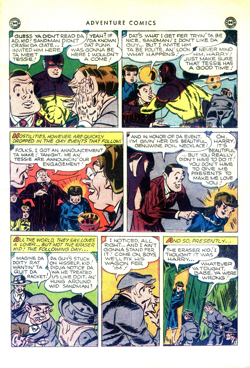 Read online Adventure Comics (1938) comic -  Issue #97 - 7