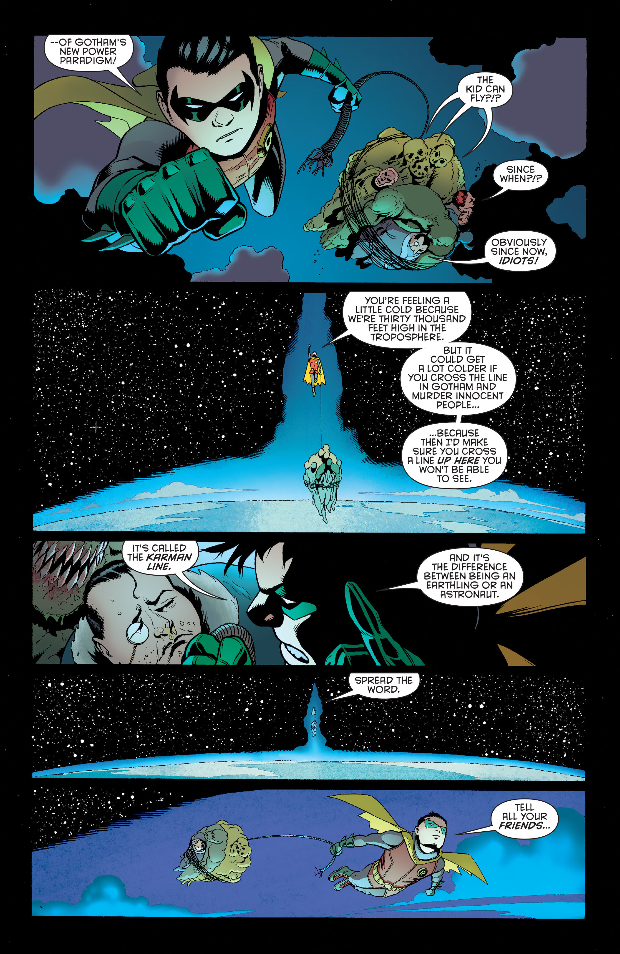 Read online Batman and Robin (2011) comic -  Issue #39 - 6