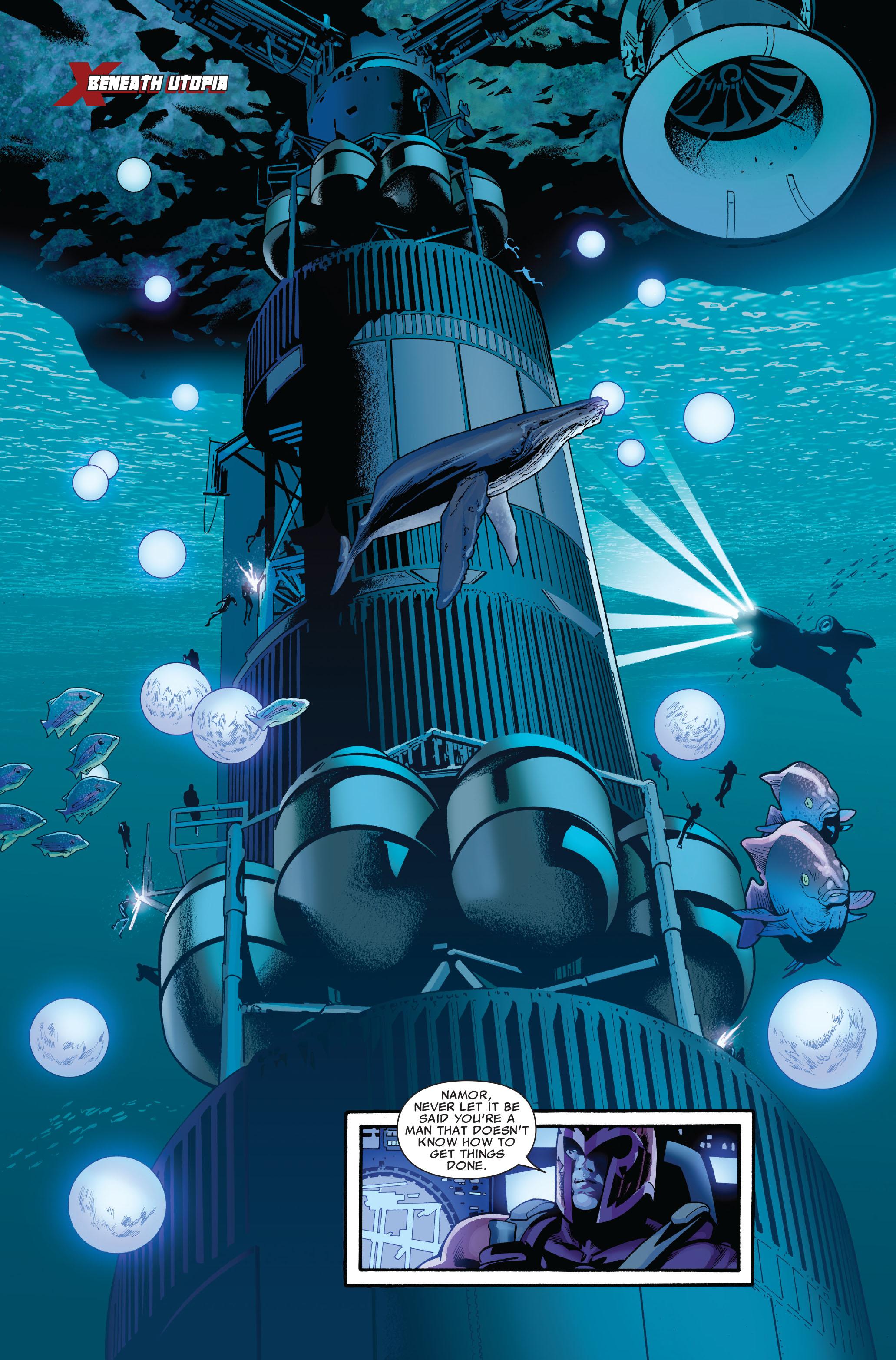 Read online Uncanny X-Men (1963) comic -  Issue #520 - 9