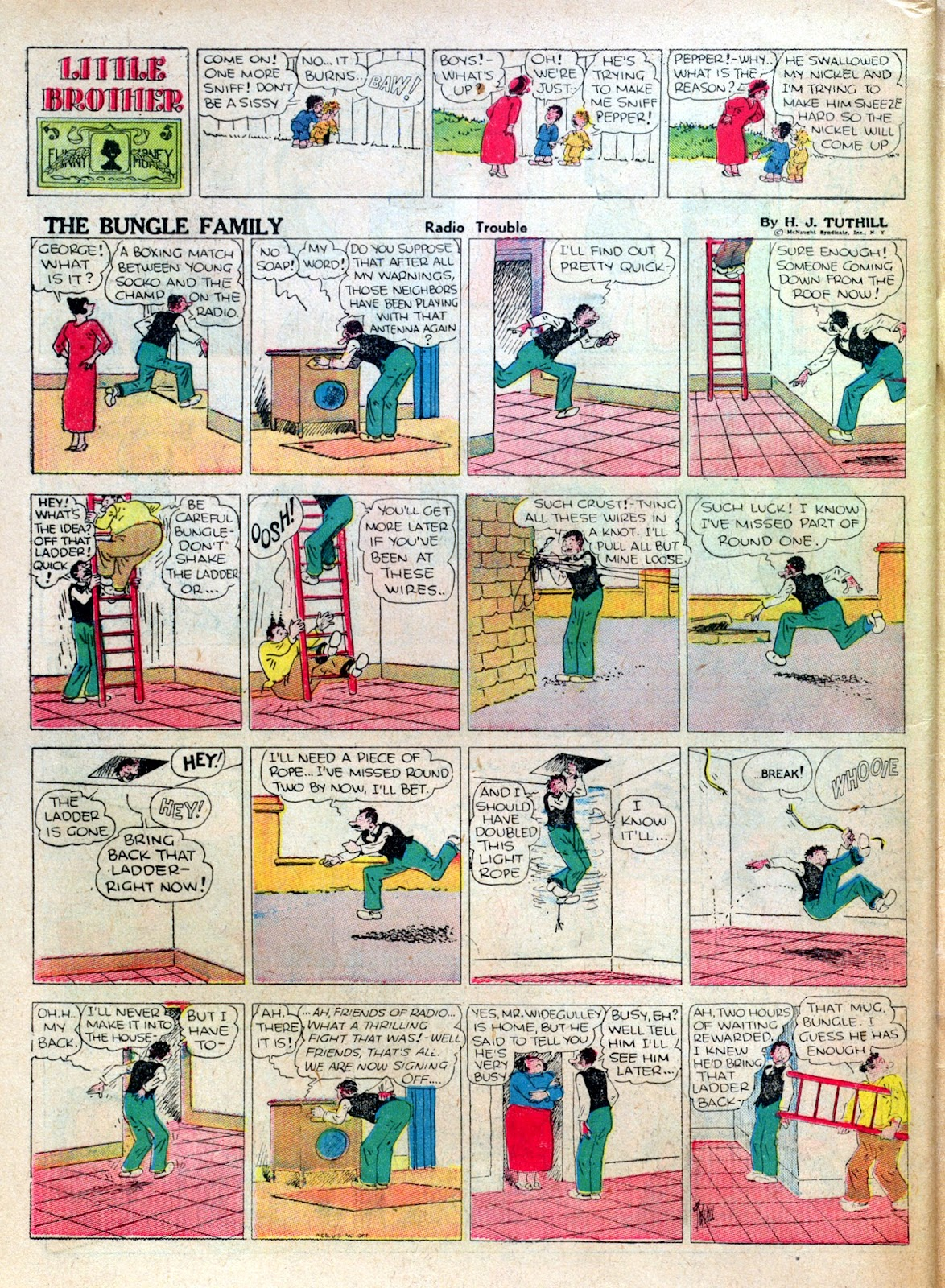 Read online Famous Funnies comic -  Issue #25 - 64