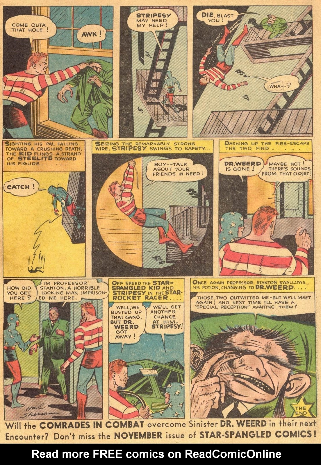 Star Spangled Comics (1941) issue 1 - Page 61