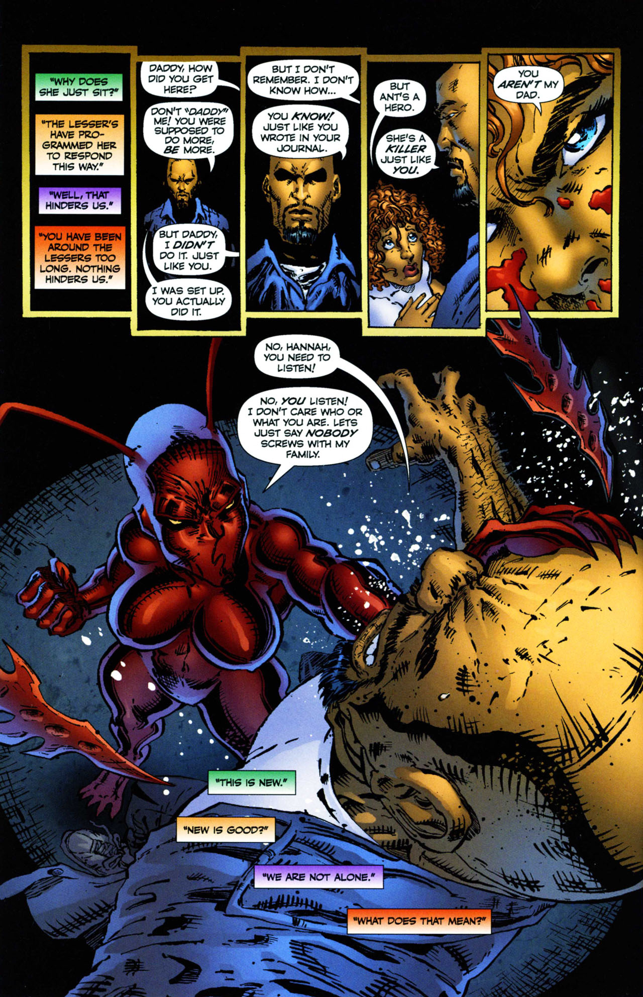 Read online Ant comic -  Issue #11 - 7