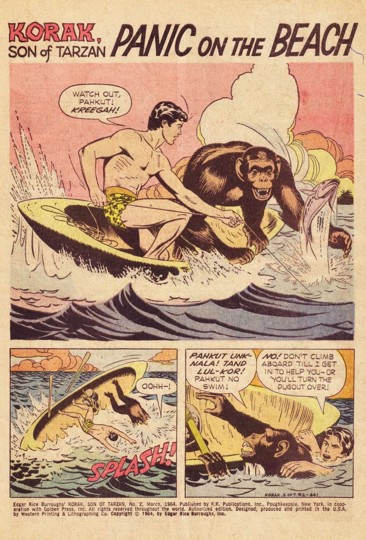Korak, Son of Tarzan (1964) issue 2 - Page 1