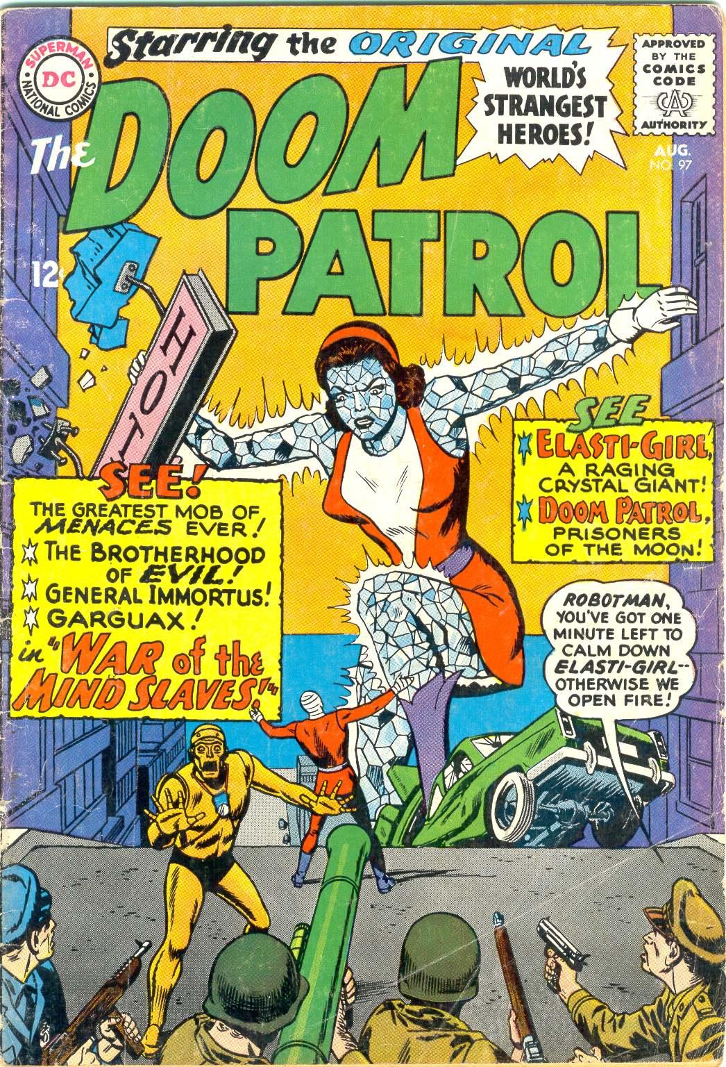 Doom Patrol (1964) issue 97 - Page 1