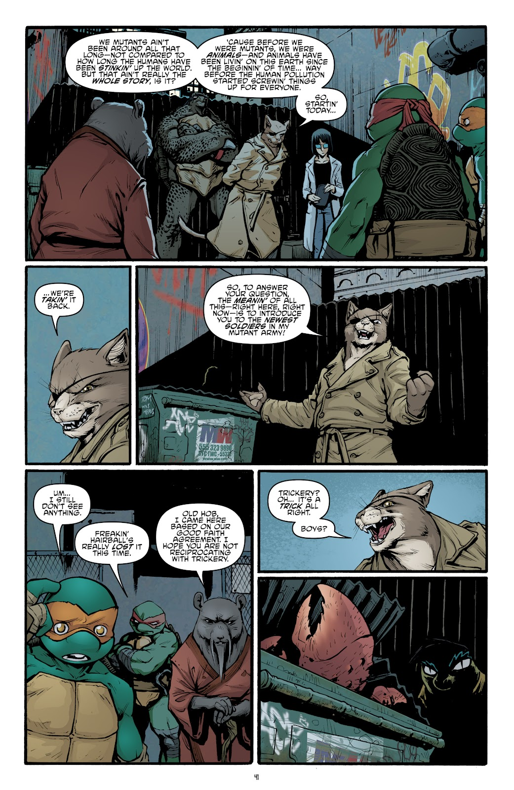 Read online Teenage Mutant Ninja Turtles: The IDW Collection comic -  Issue # TPB 5 (Part 2) - 17