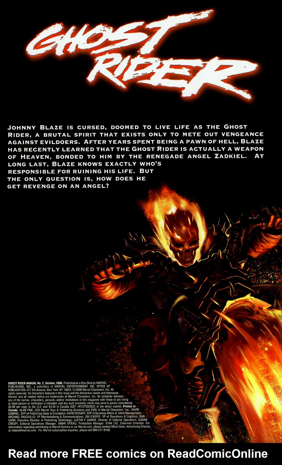 Read online Ghost Rider (2006) comic -  Issue # Annual 2 - 2