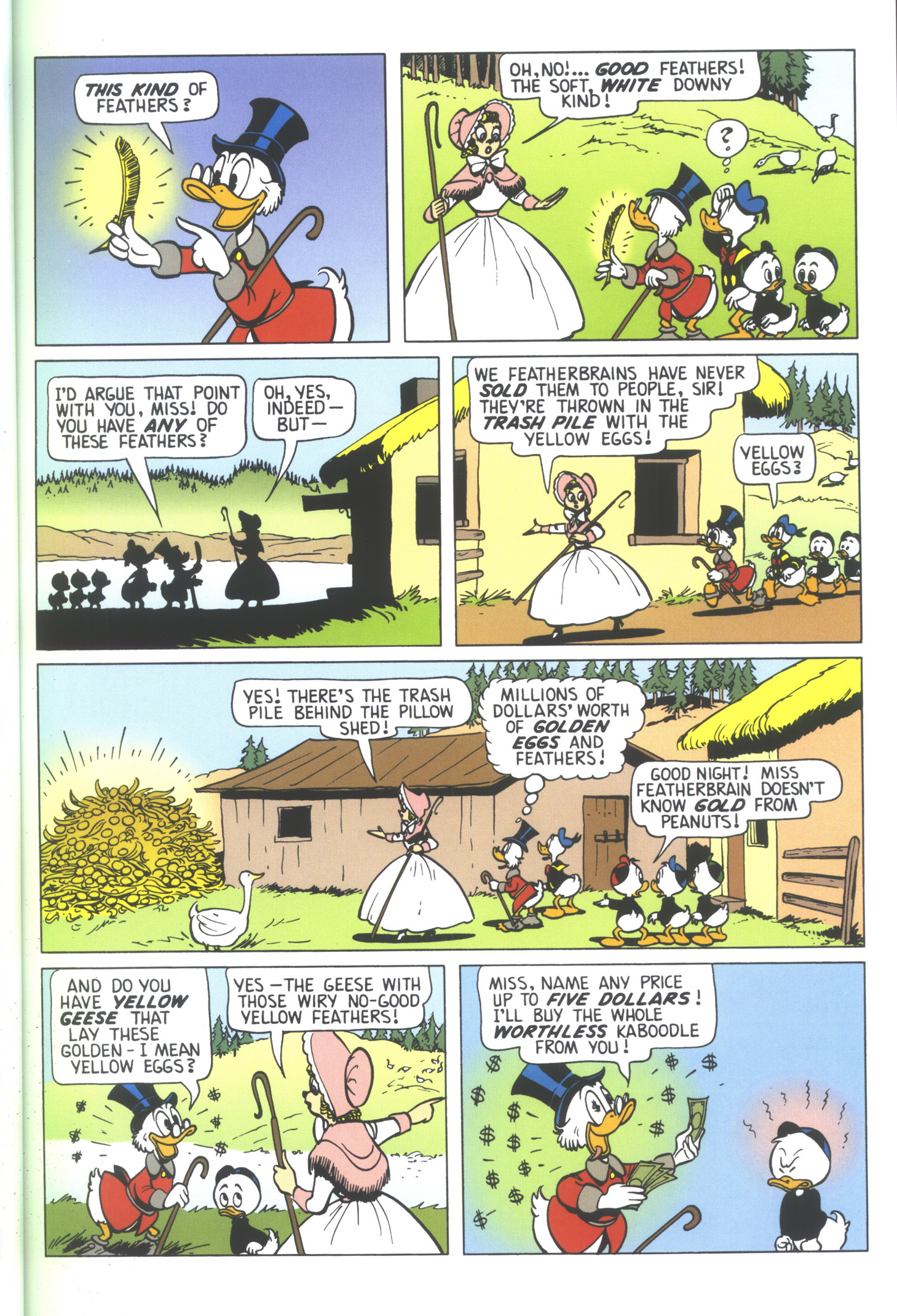 Read online Uncle Scrooge (1953) comic -  Issue #352 - 17