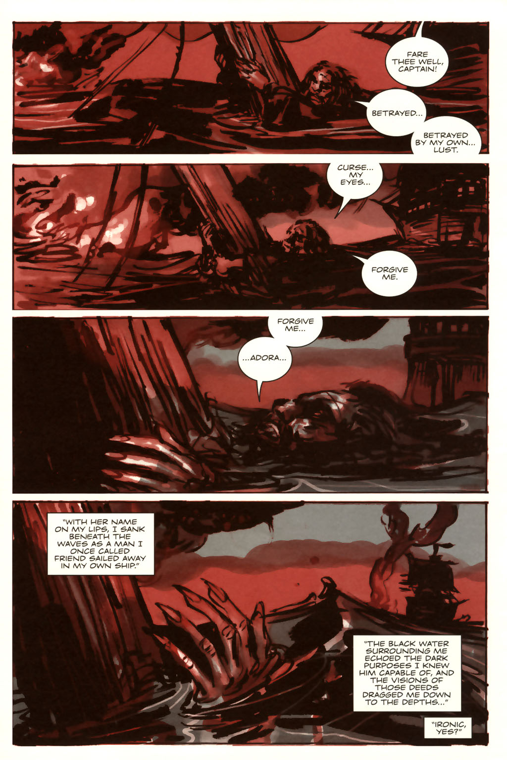 Read online Sea of Red comic -  Issue #9 - 23