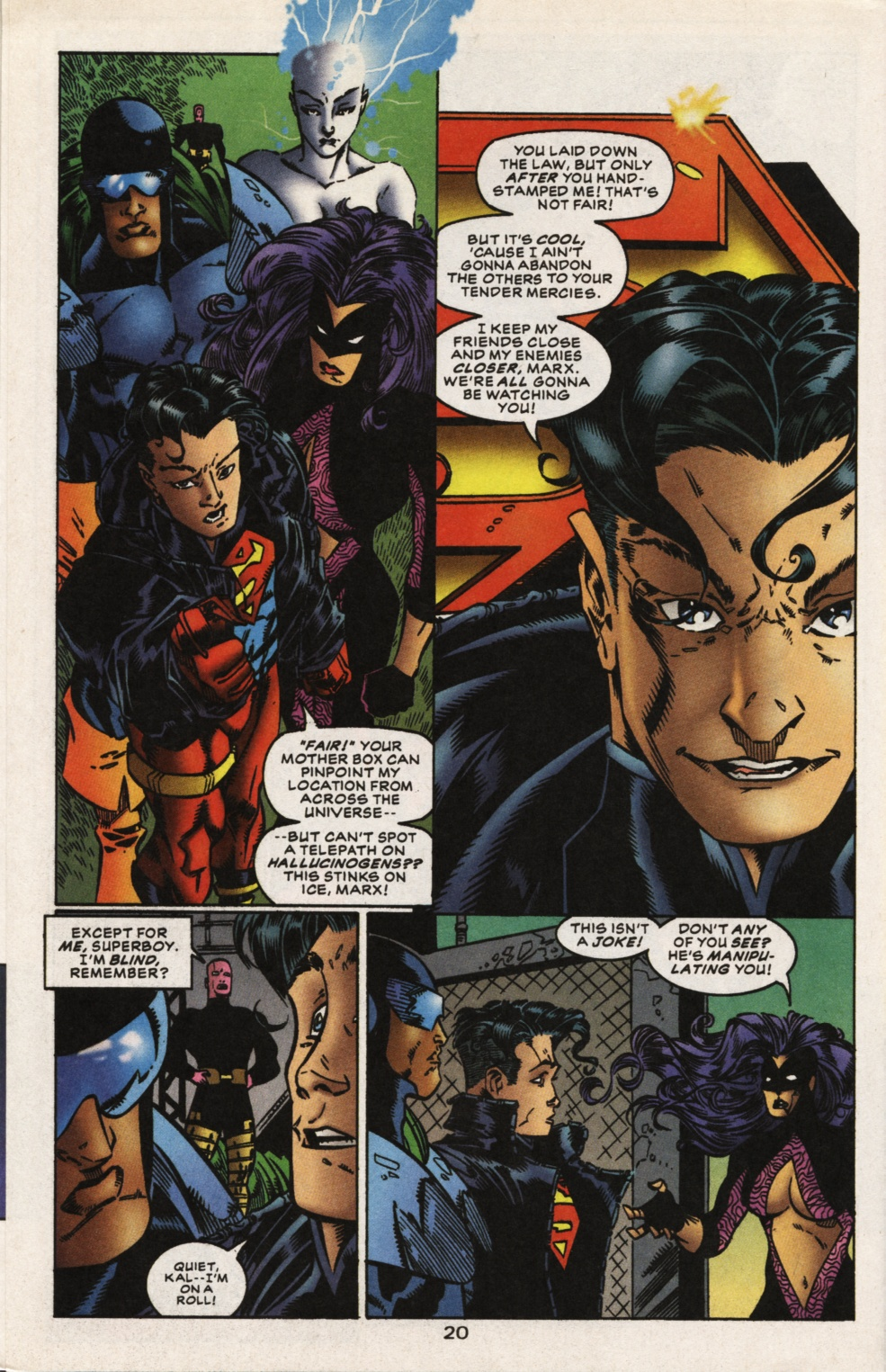 Superboy & The Ravers issue 15 - Page 21
