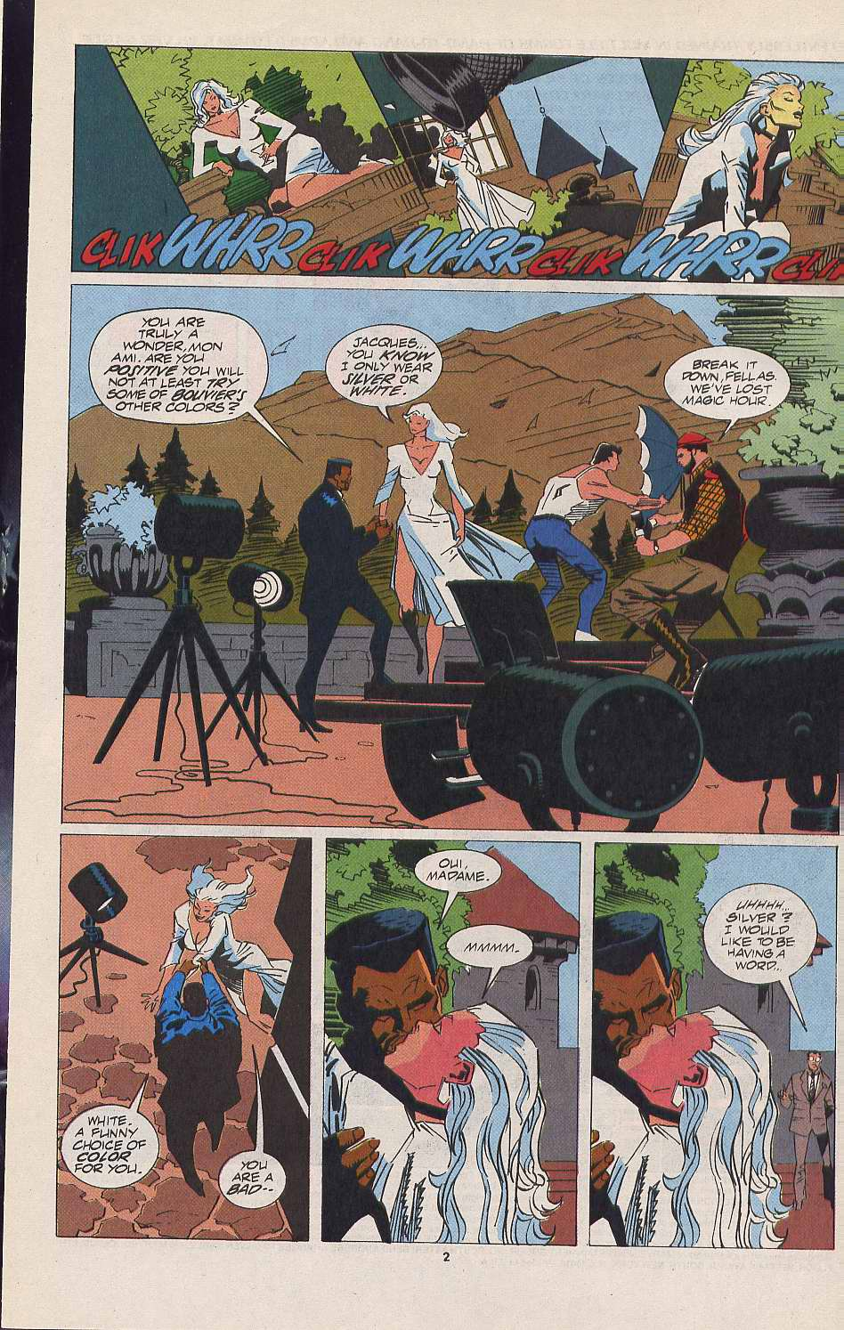 Read online Silver Sable and the Wild Pack comic -  Issue #11 - 3
