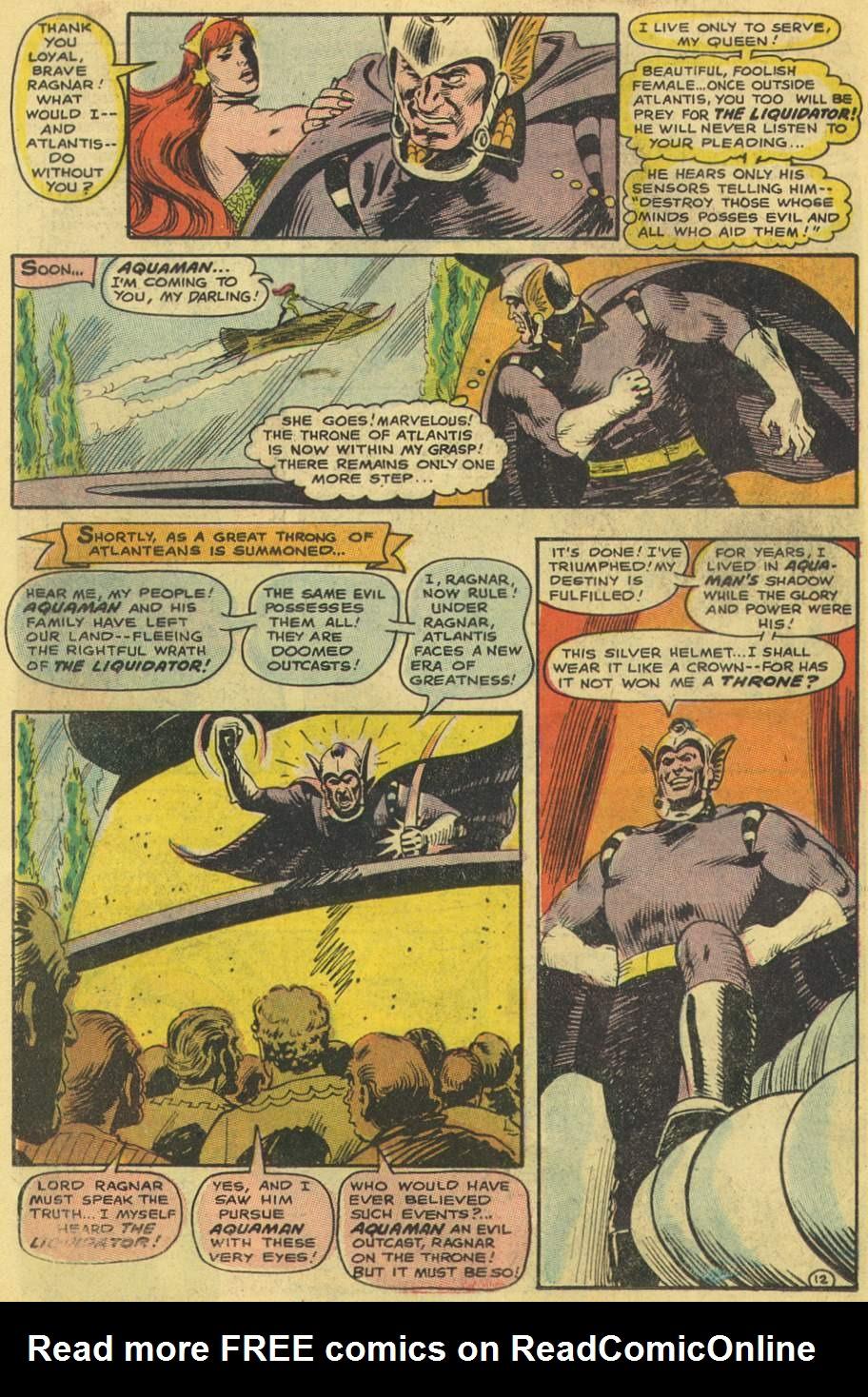 Read online Aquaman (1962) comic -  Issue #38 - 18