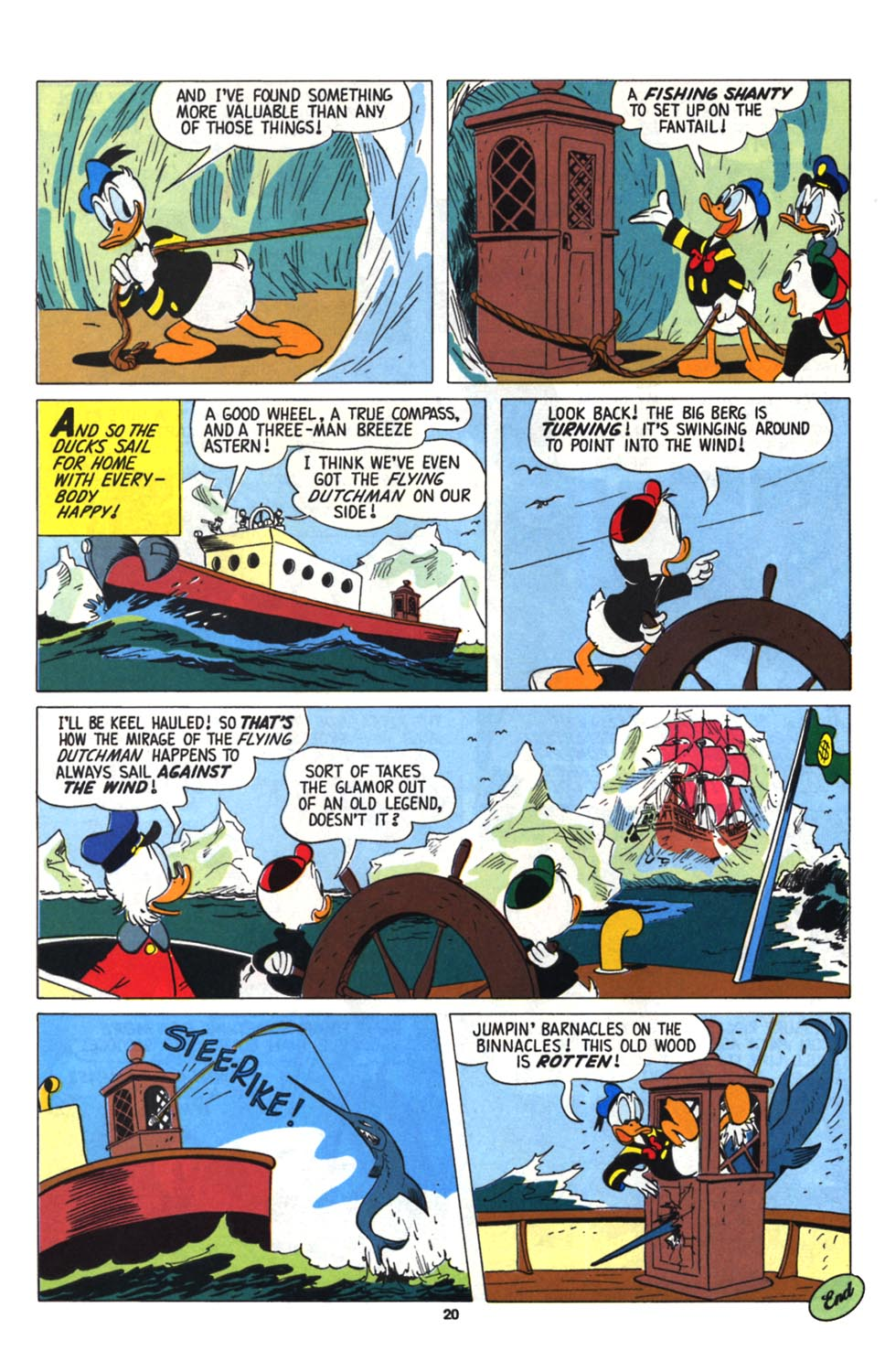 Read online Uncle Scrooge (1953) comic -  Issue #255 - 22