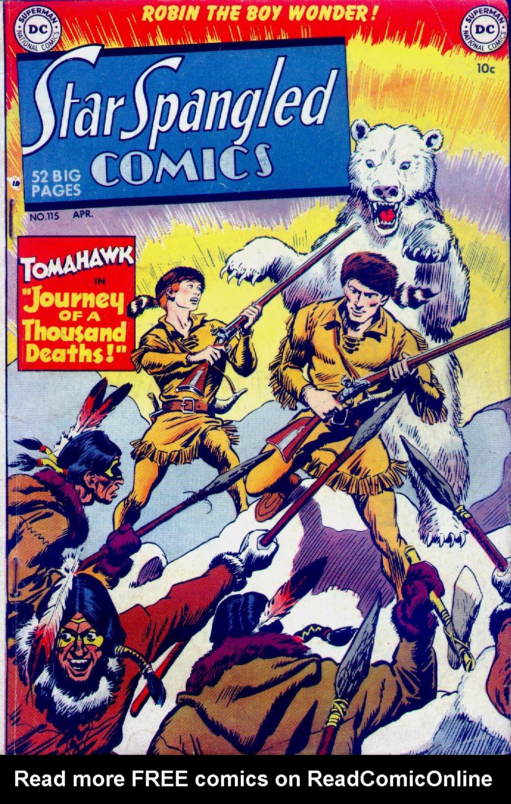 Star Spangled Comics (1941) 115 Page 1