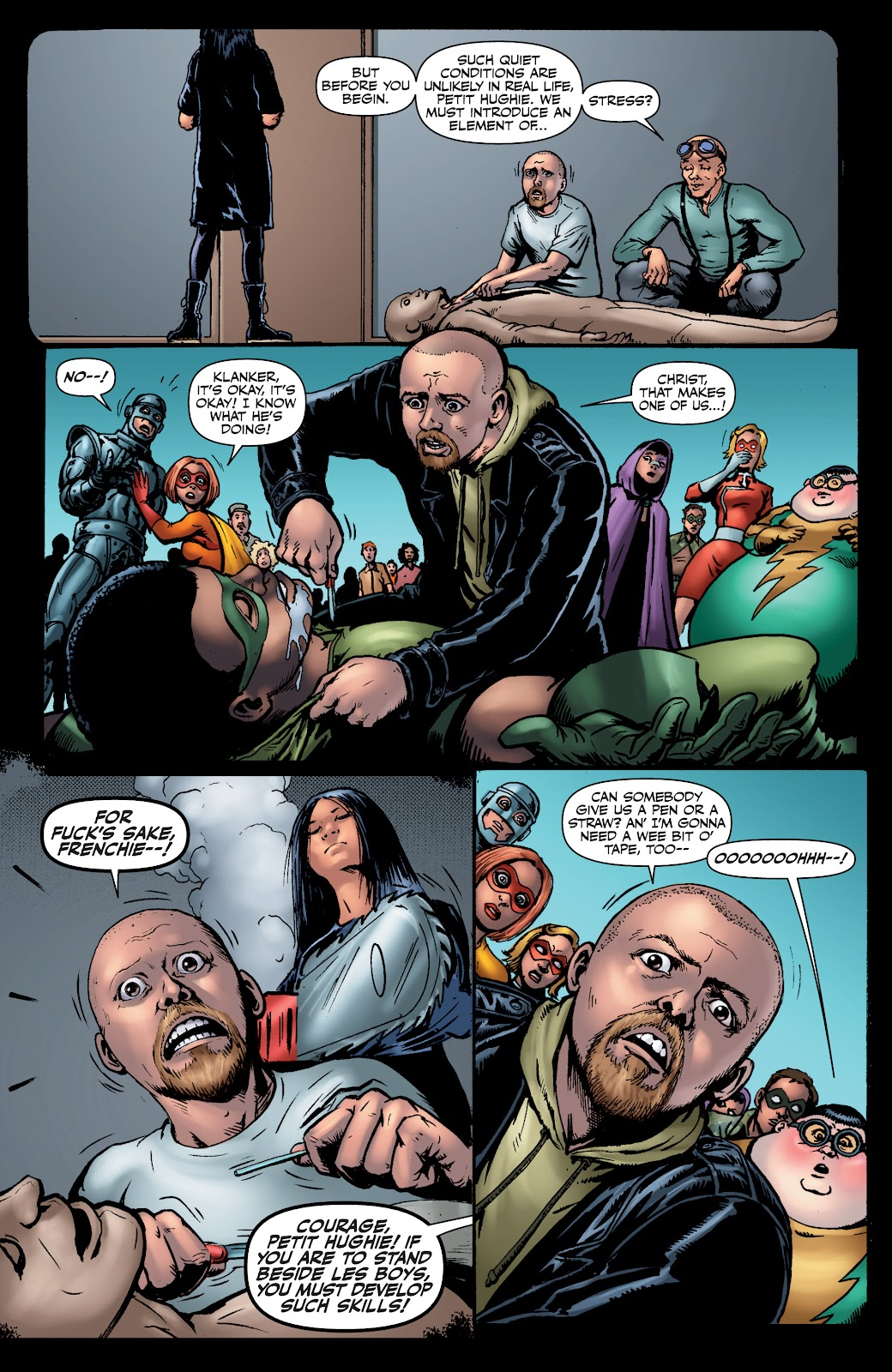 Read online The Boys Omnibus comic -  Issue # TPB 4 (Part 1) - 73