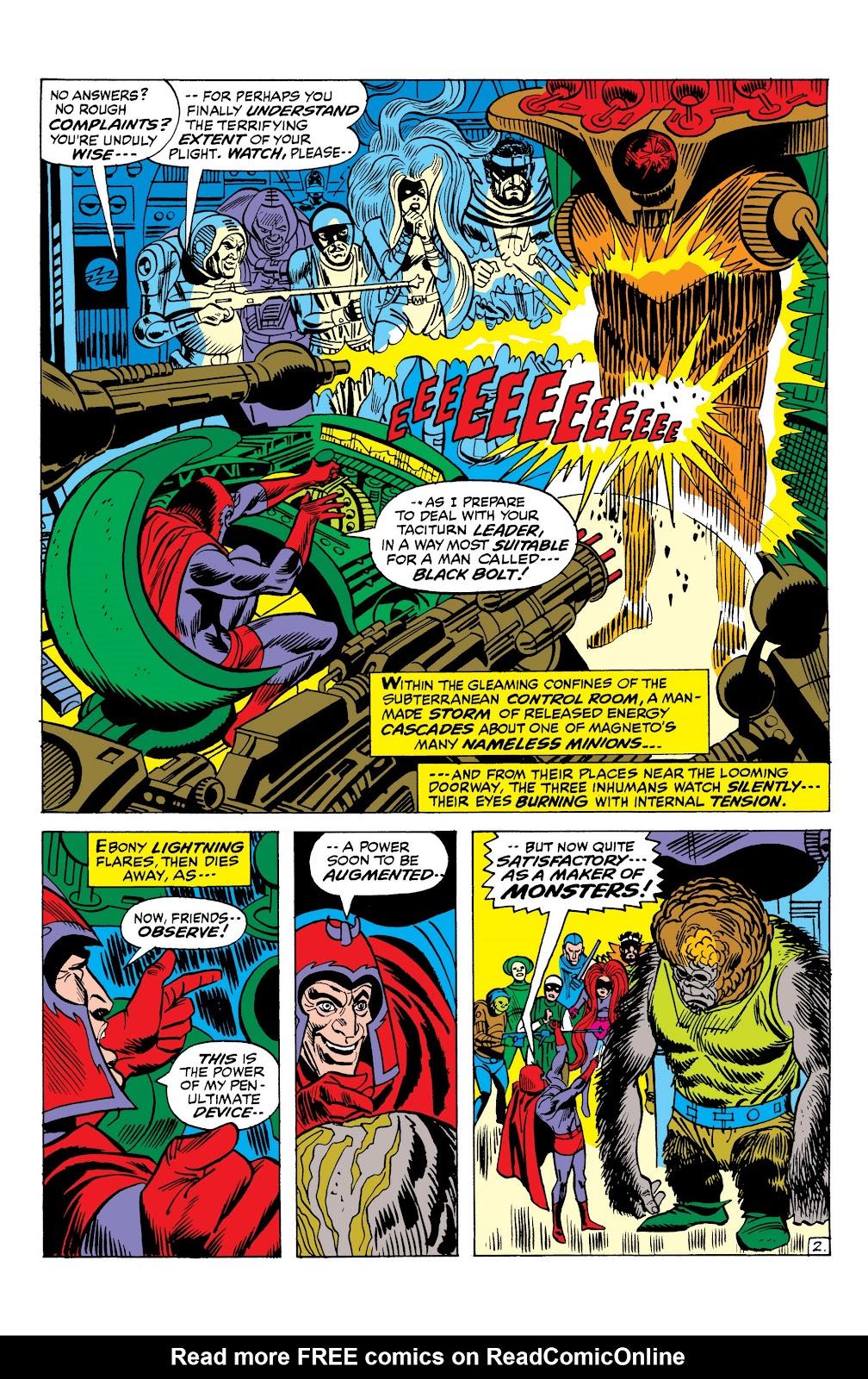 Read online Marvel Masterworks: The Inhumans comic -  Issue # TPB 1 (Part 2) - 80