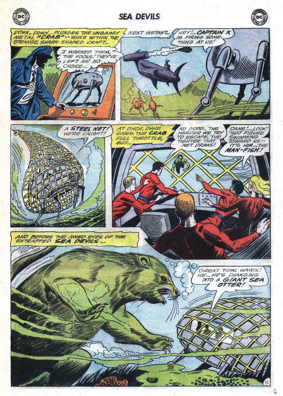 Read online Sea Devils comic -  Issue #22 - 17