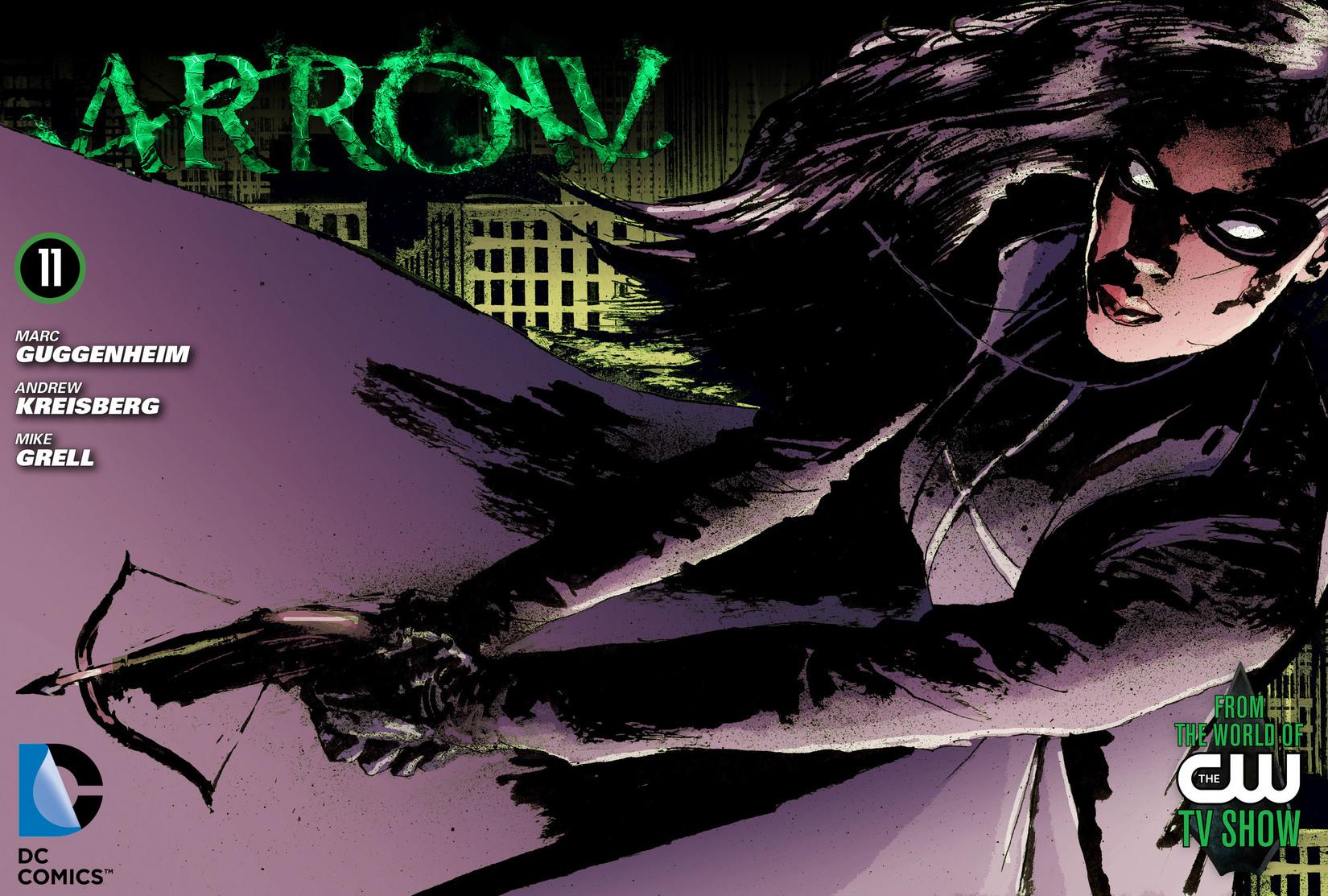 Read online Arrow [II] comic -  Issue #11 - 1