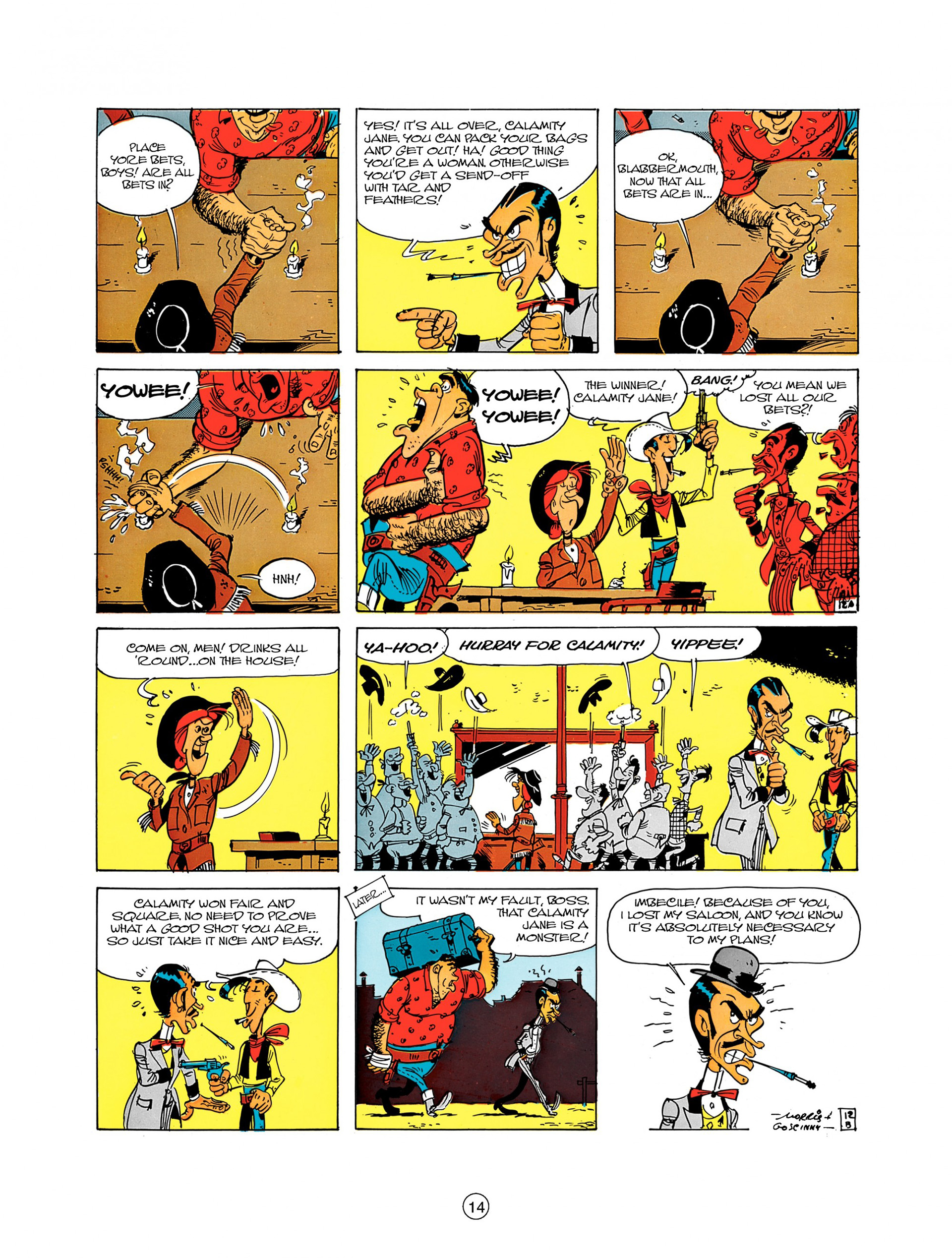 Read online A Lucky Luke Adventure comic -  Issue #8 - 14