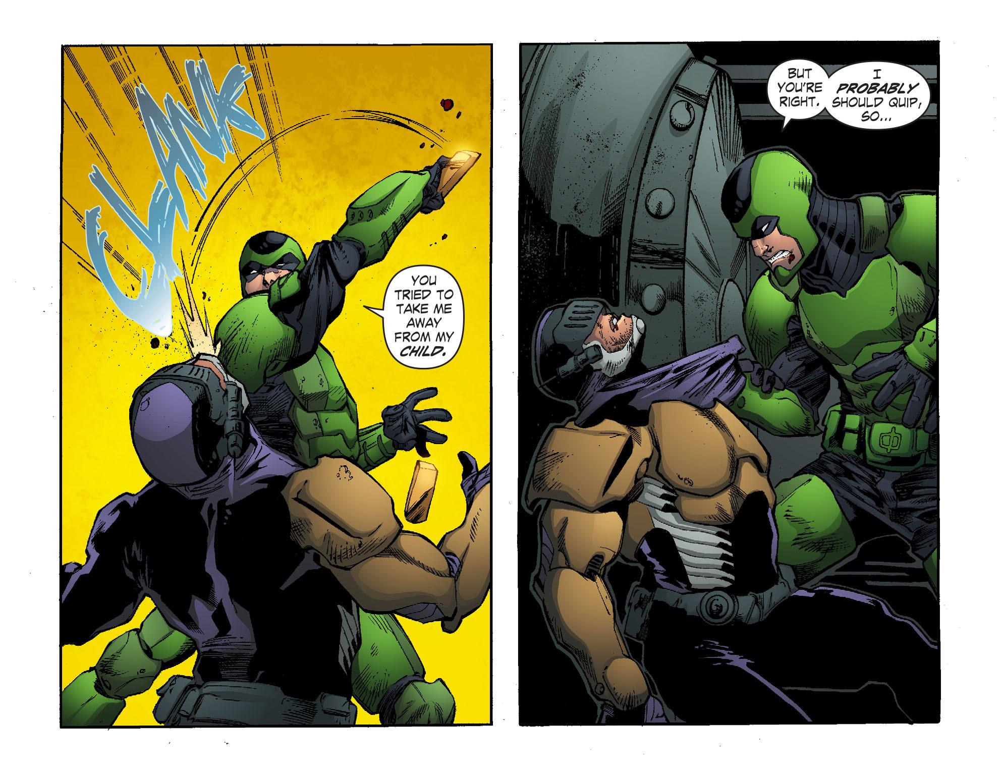 Read online Smallville: Lantern [I] comic -  Issue #11 - 8